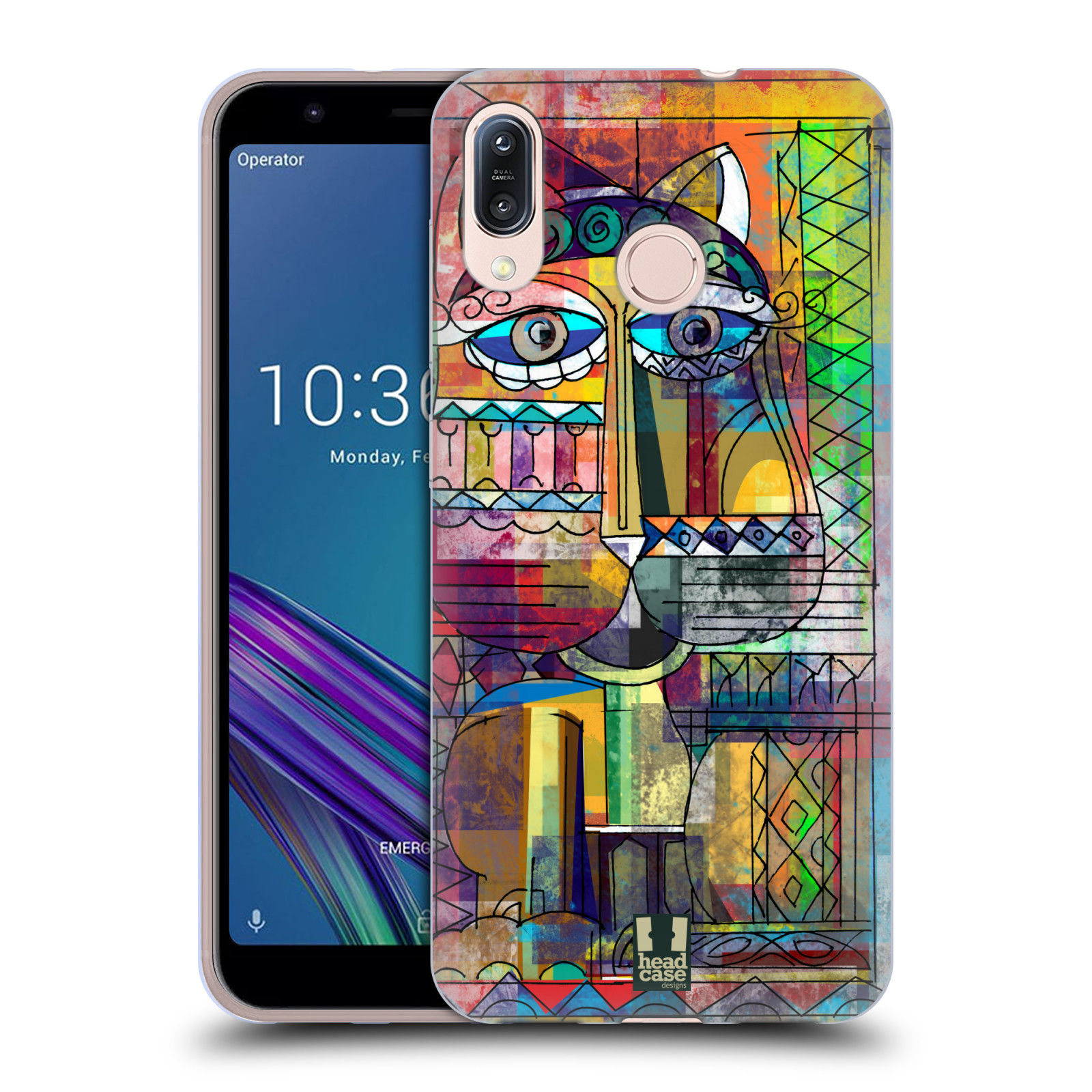 Silikonové pouzdro na mobil Asus Zenfone Max M1 ZB555KL - Head Case - AZTEC KORAT