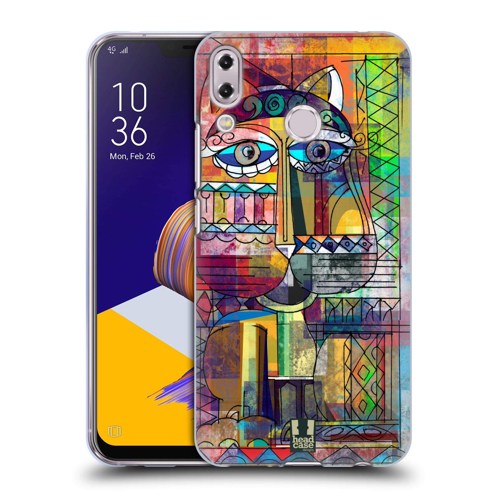 Silikonové pouzdro na mobil Asus Zenfone 5z ZS620KL - Head Case - AZTEC KORAT