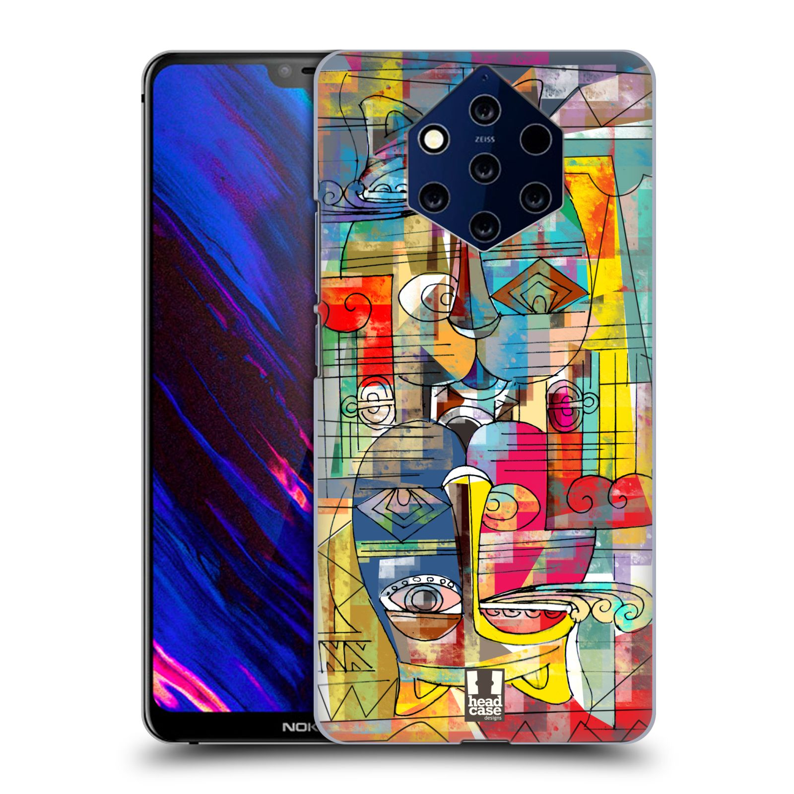 Plastové pouzdro na mobil Nokia 9 PureView - Head Case - AZTEC MANX