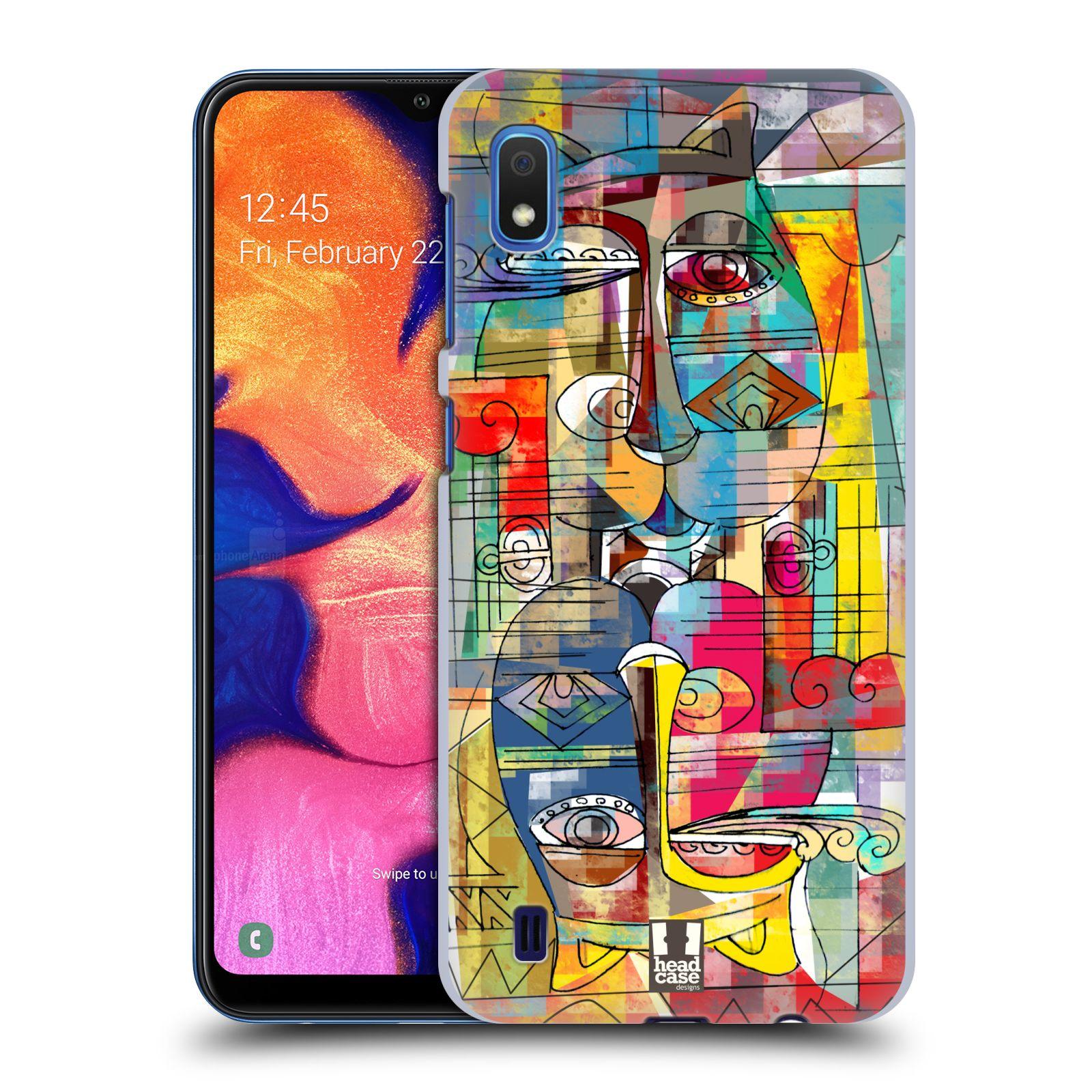 Plastové pouzdro na mobil Samsung Galaxy A10 - Head Case - AZTEC MANX