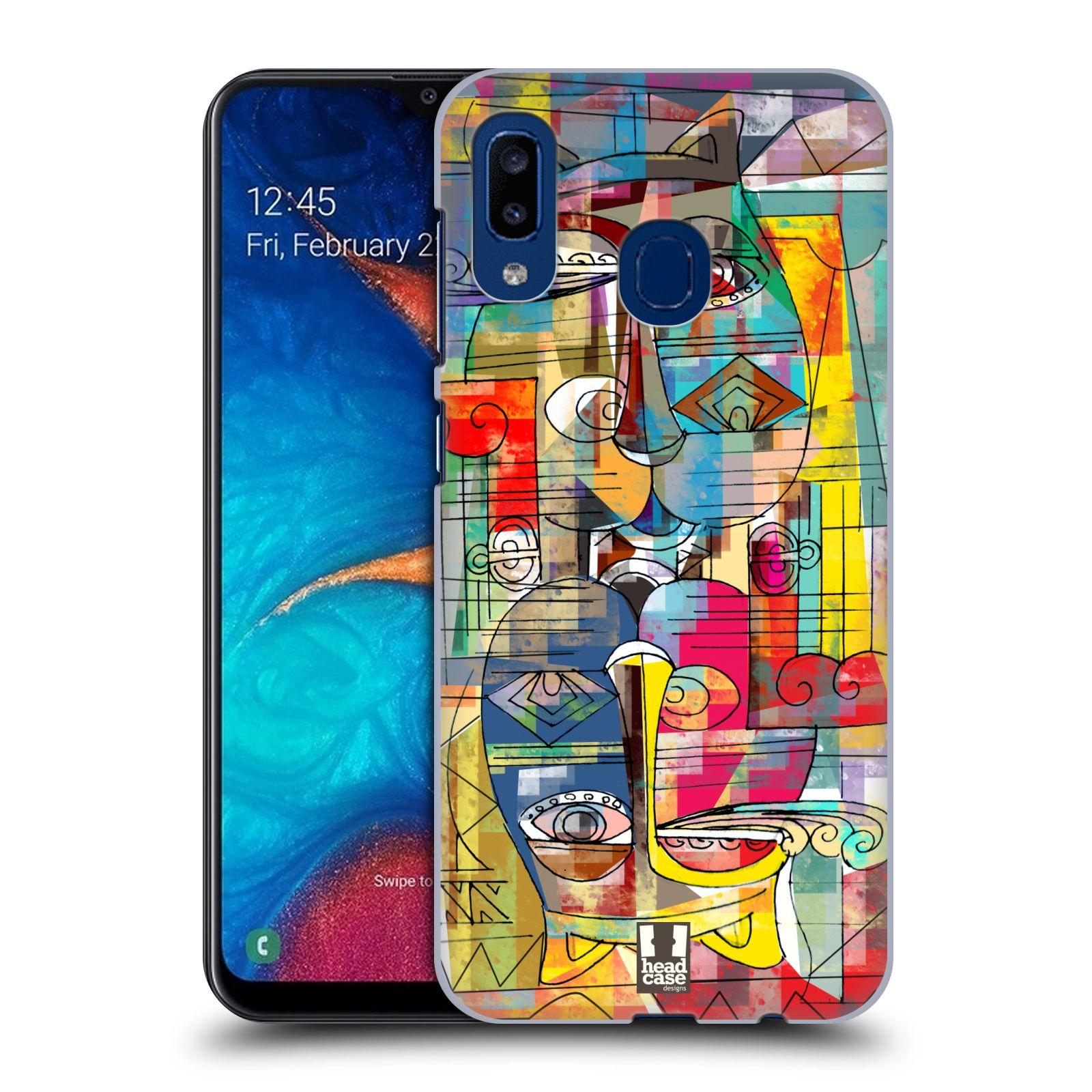 Plastové pouzdro na mobil Samsung Galaxy A20 - Head Case - AZTEC MANX