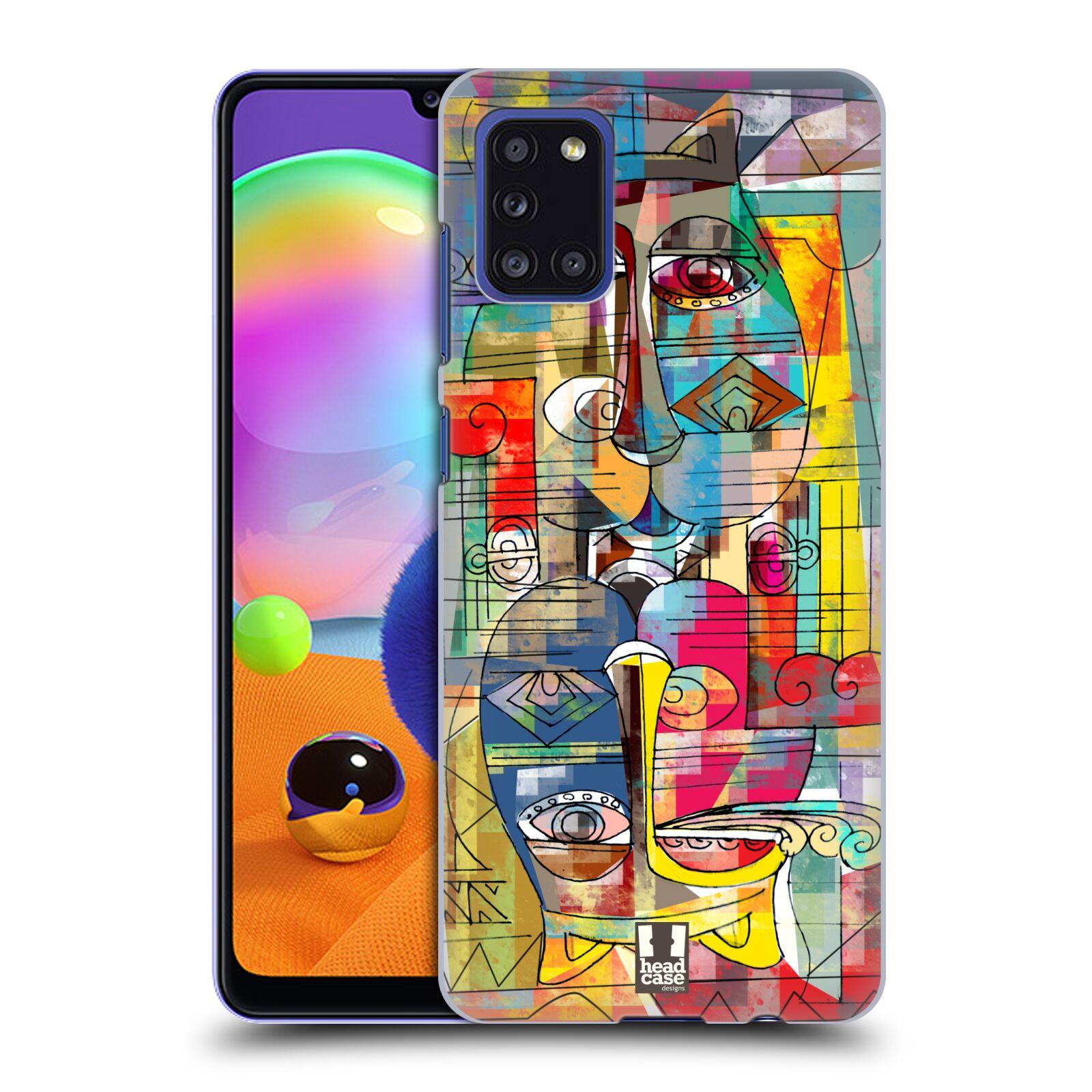 Plastové pouzdro na mobil Samsung Galaxy A31 - Head Case - AZTEC MANX
