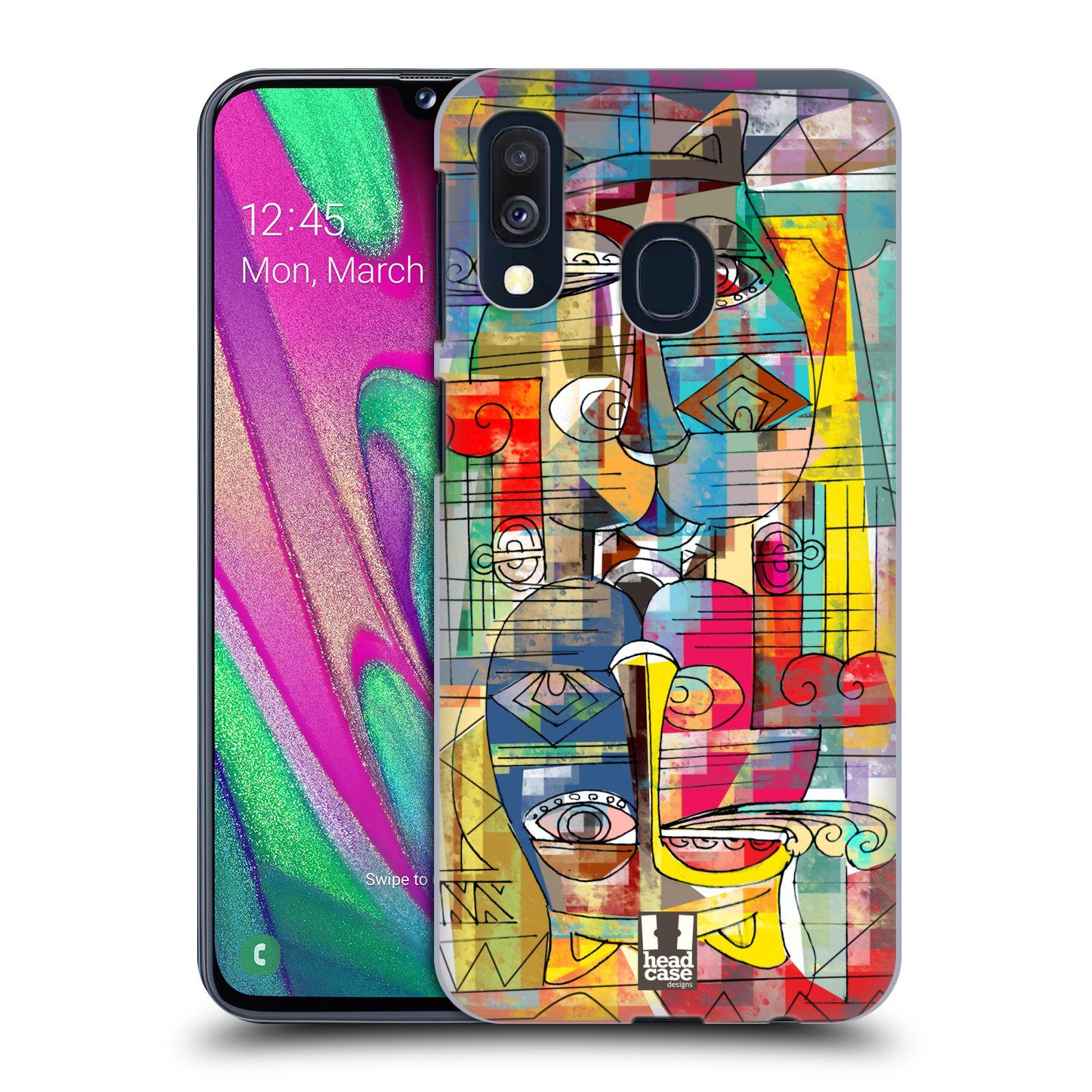 Plastové pouzdro na mobil Samsung Galaxy A40 - Head Case - AZTEC MANX