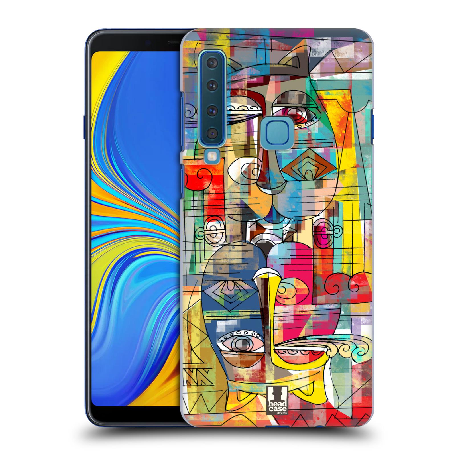 Plastové pouzdro na mobil Samsung Galaxy A9 (2018) - Head Case - AZTEC MANX