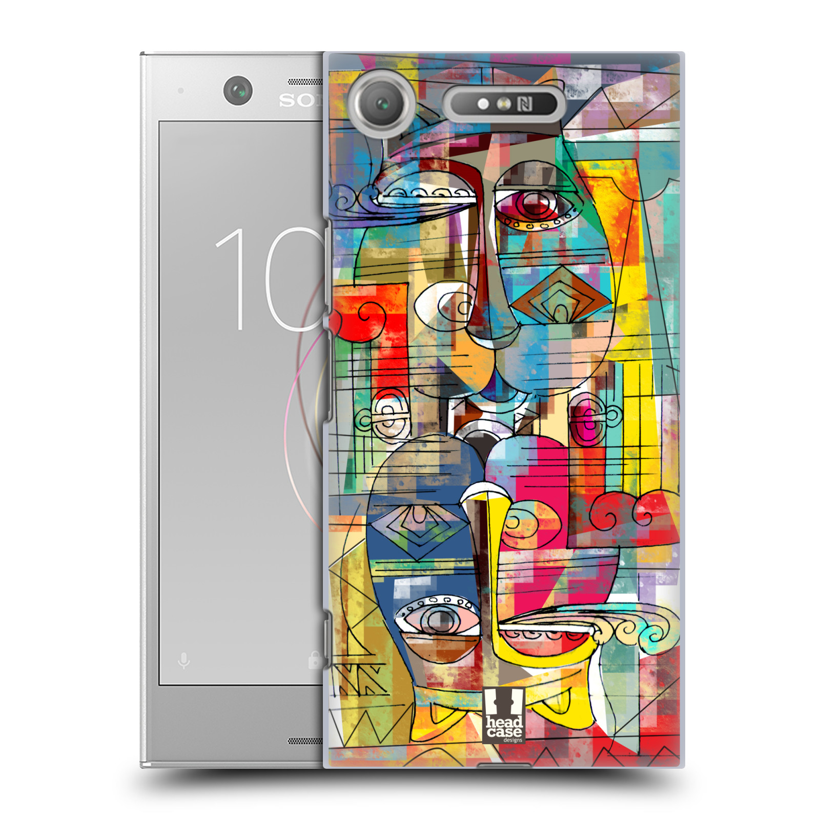 Plastové pouzdro na mobil Sony Xperia XZ1 - Head Case - AZTEC MANX