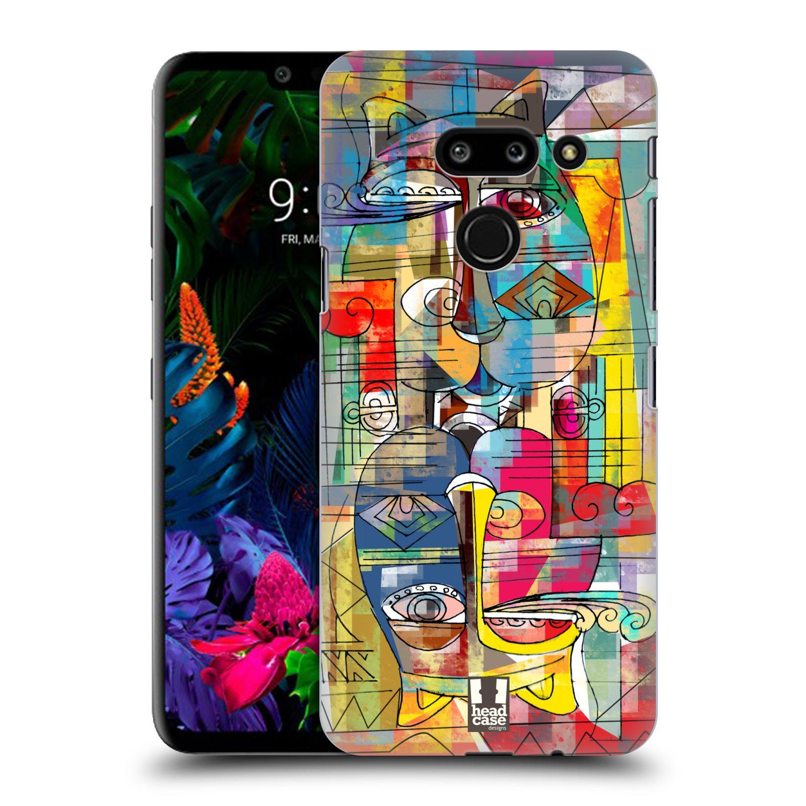Plastové pouzdro na mobil LG G8 ThinQ - Head Case - AZTEC MANX