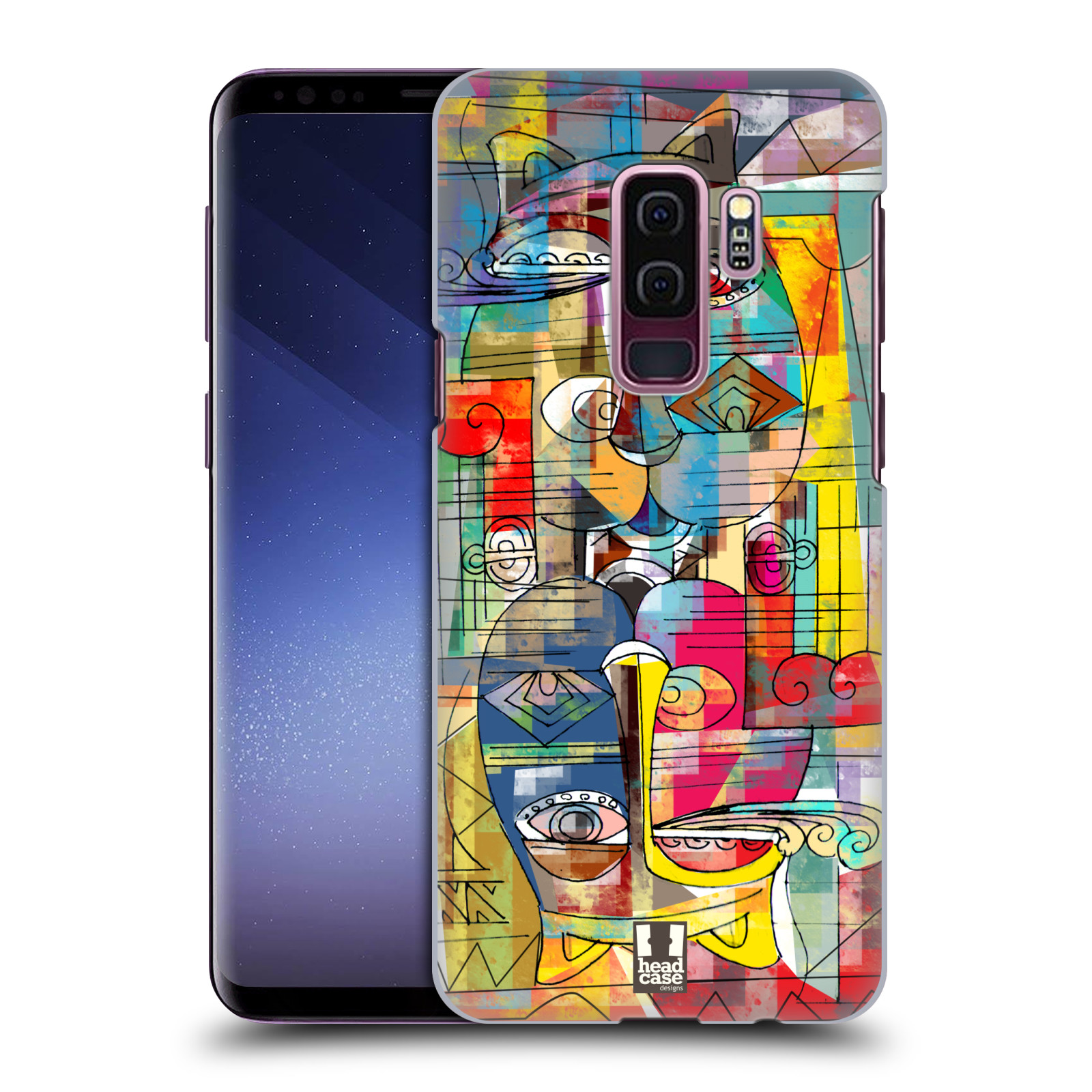 Plastové pouzdro na mobil Samsung Galaxy S9 Plus - Head Case - AZTEC MANX