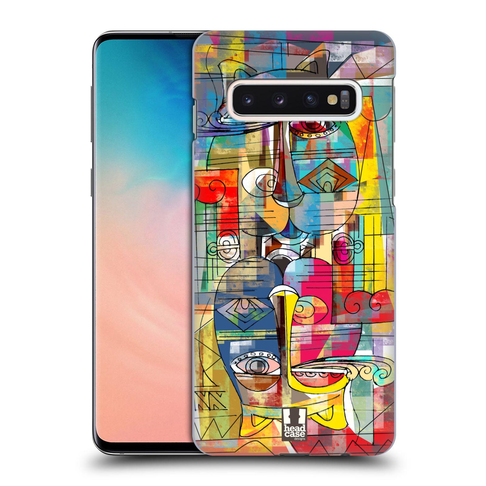 Plastové pouzdro na mobil Samsung Galaxy S10 - Head Case - AZTEC MANX