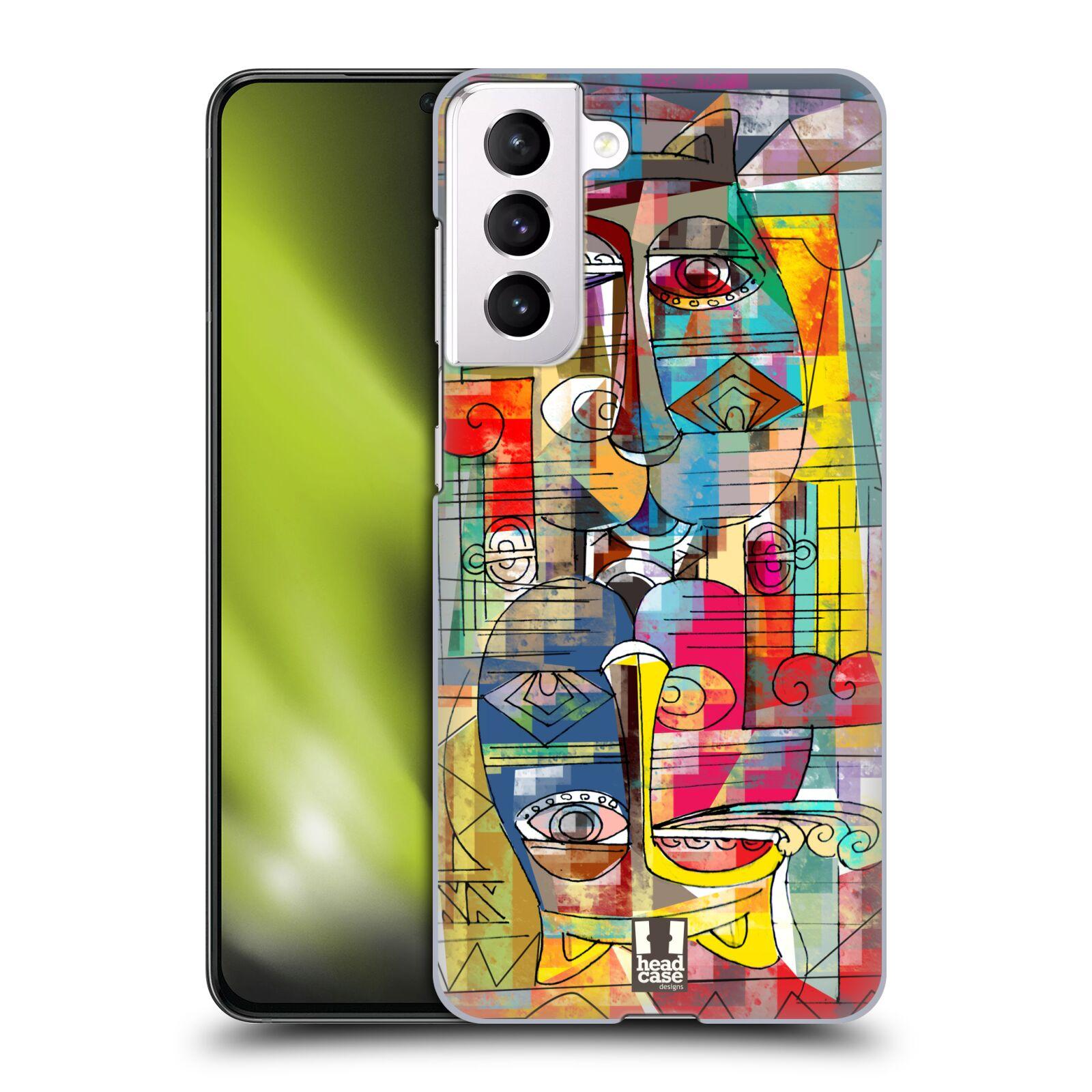 Plastové pouzdro na mobil Samsung Galaxy S21 5G - Head Case - AZTEC MANX