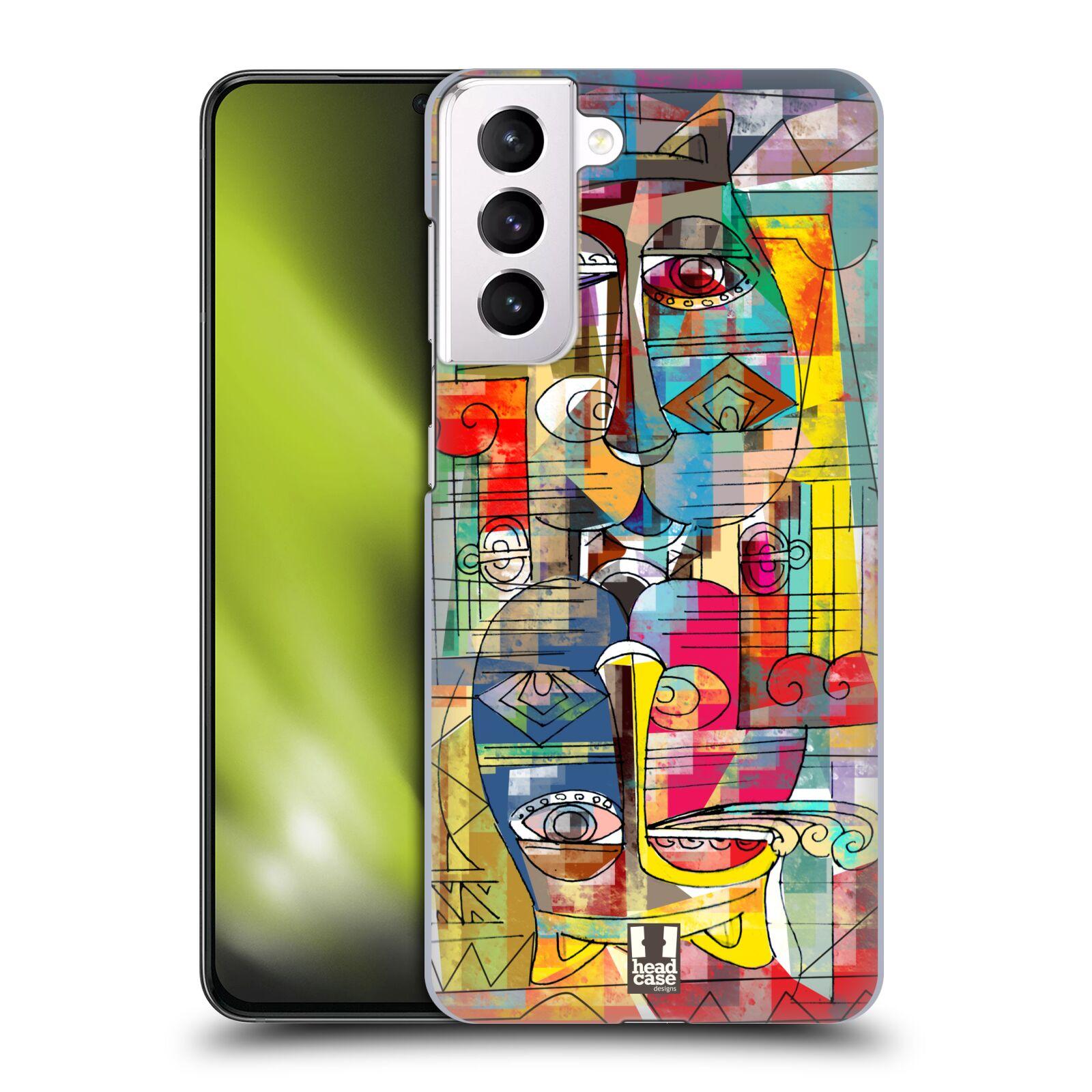 Plastové pouzdro na mobil Samsung Galaxy S21 Plus 5G - Head Case - AZTEC MANX