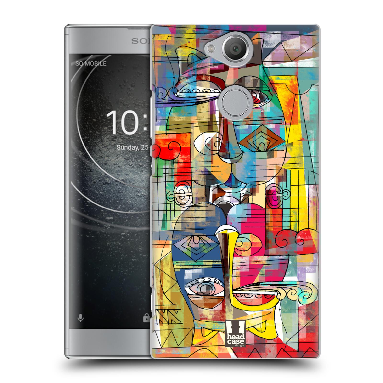 Plastové pouzdro na mobil Sony Xperia XA2 - Head Case - AZTEC MANX
