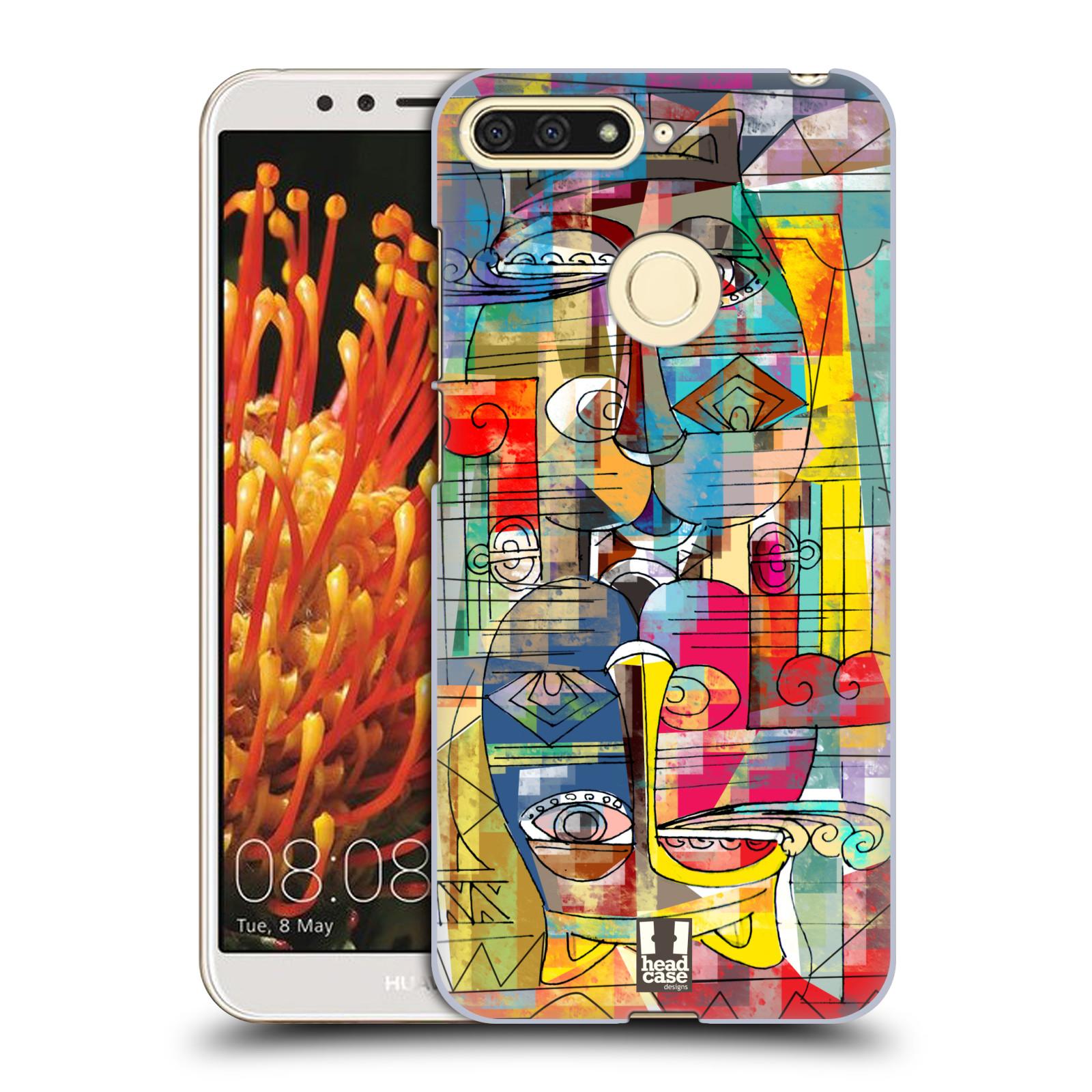 Plastové pouzdro na mobil Huawei Y6 Prime 2018 - Head Case - AZTEC MANX