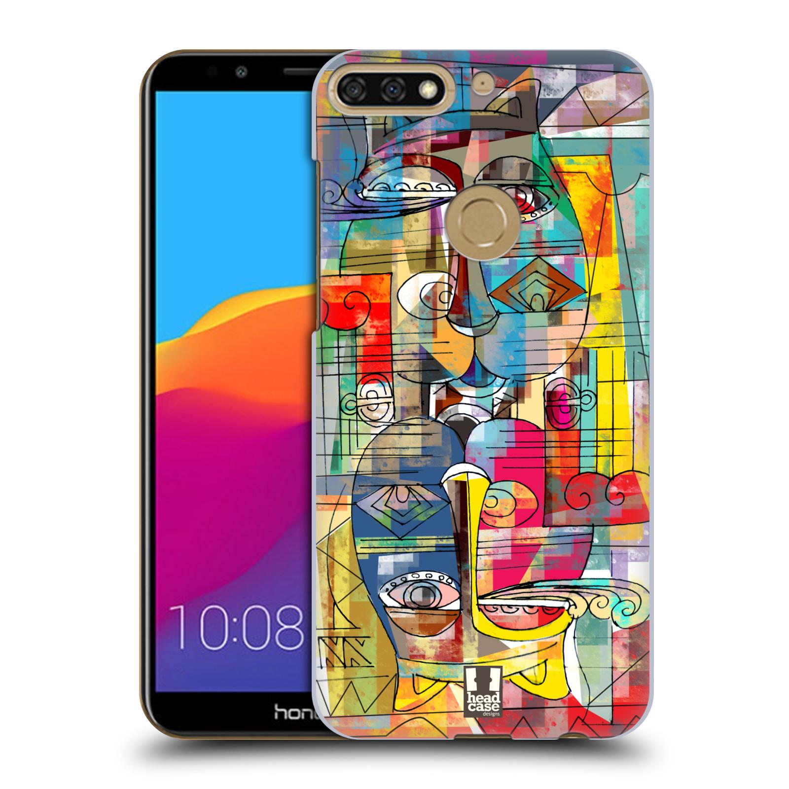 Plastové pouzdro na mobil Huawei Y7 Prime 2018 - Head Case - AZTEC MANX