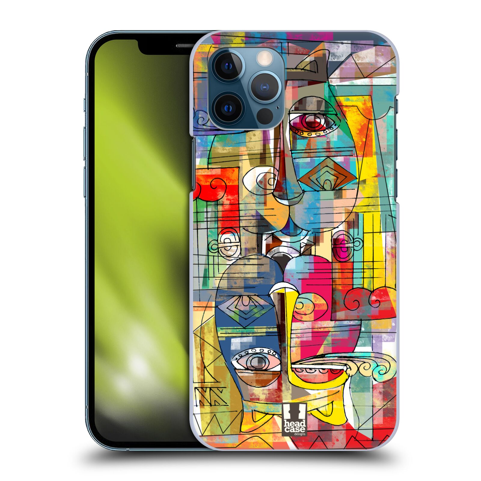 Plastové pouzdro na mobil Apple iPhone 12 / 12 Pro - Head Case - AZTEC MANX