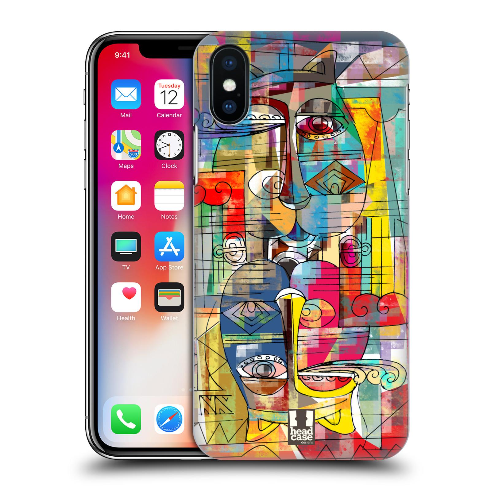 Plastové pouzdro na mobil Apple iPhone X - Head Case - AZTEC MANX