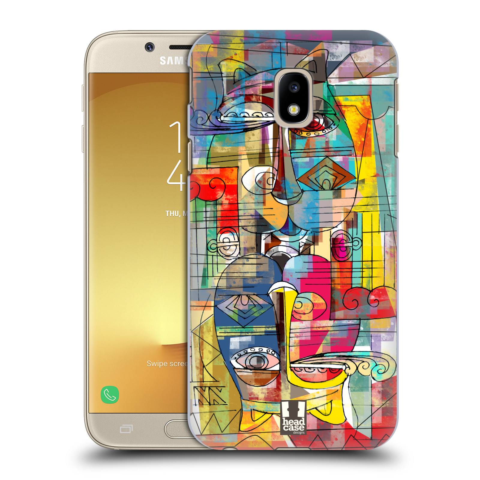 Plastové pouzdro na mobil Samsung Galaxy J3 (2017) - Head Case - AZTEC MANX