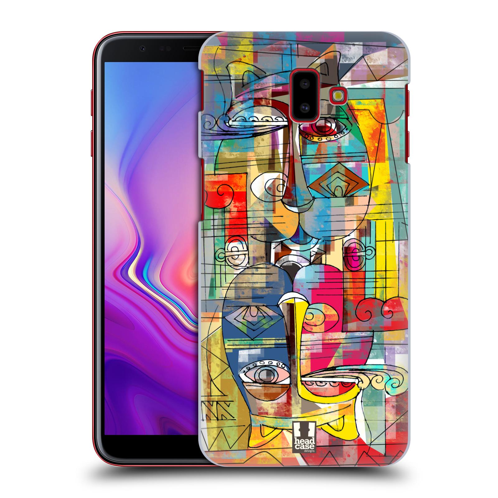 Plastové pouzdro na mobil Samsung Galaxy J6 Plus - Head Case - AZTEC MANX