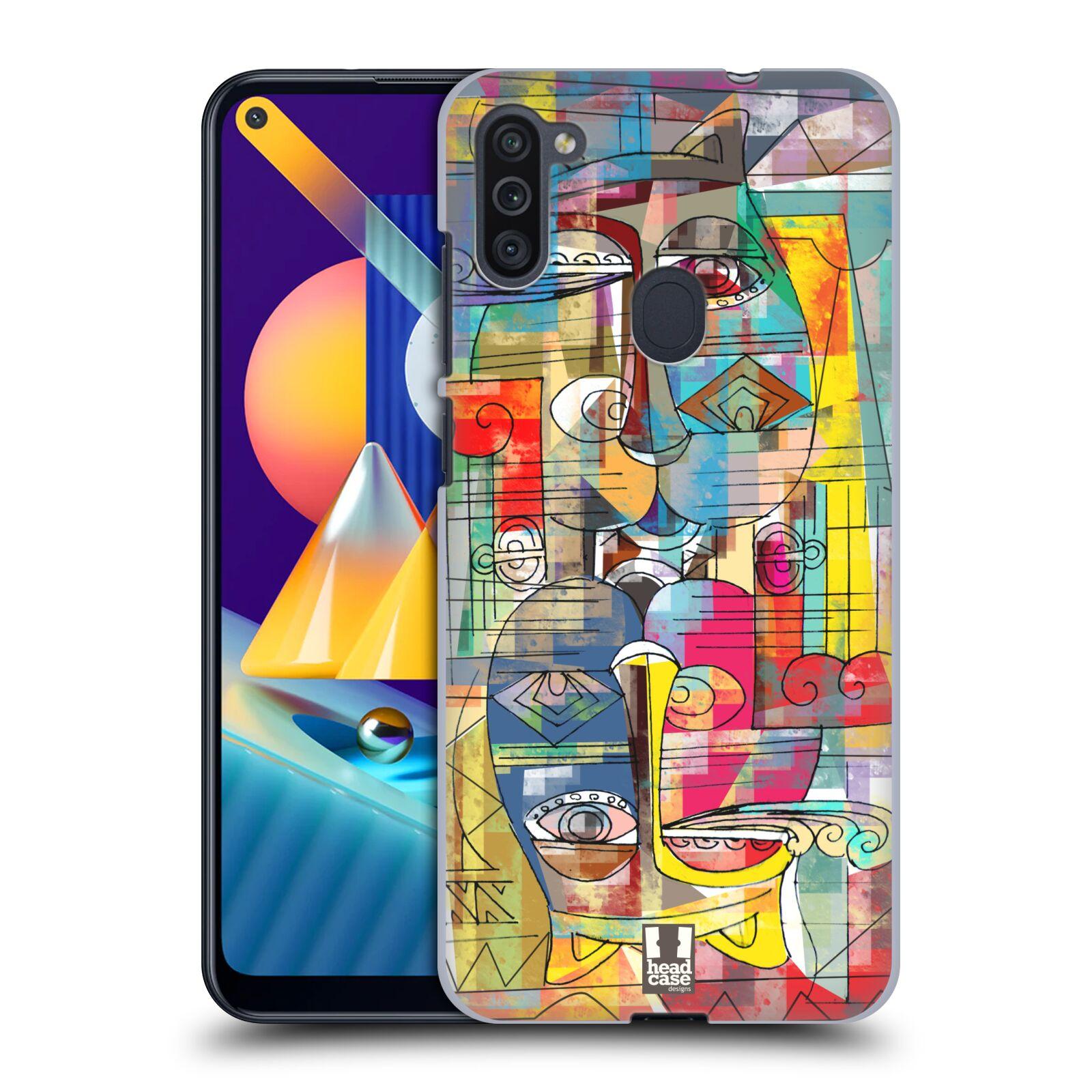 Plastové pouzdro na mobil Samsung Galaxy M11 - Head Case - AZTEC MANX