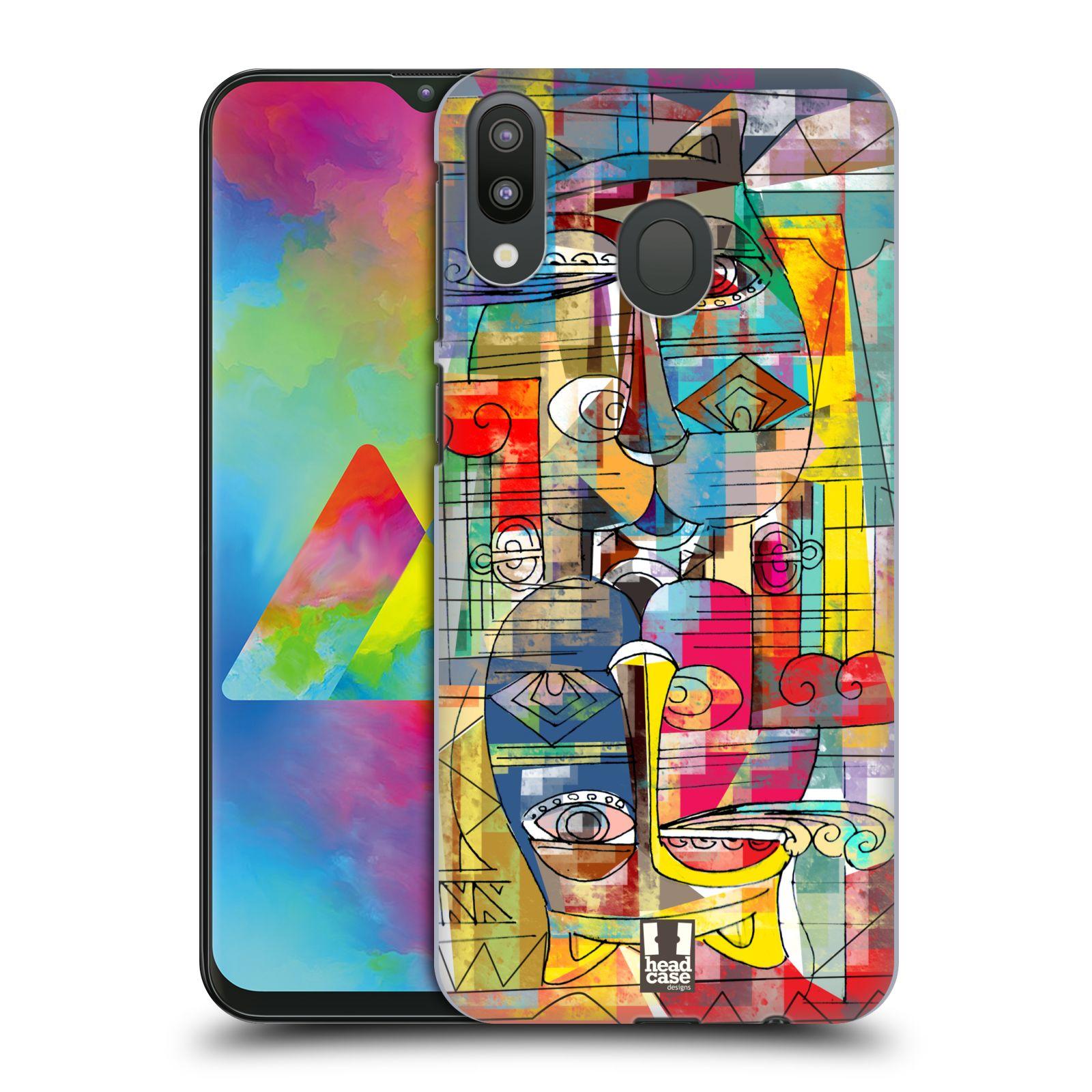Plastové pouzdro na mobil Samsung Galaxy M20 - Head Case - AZTEC MANX