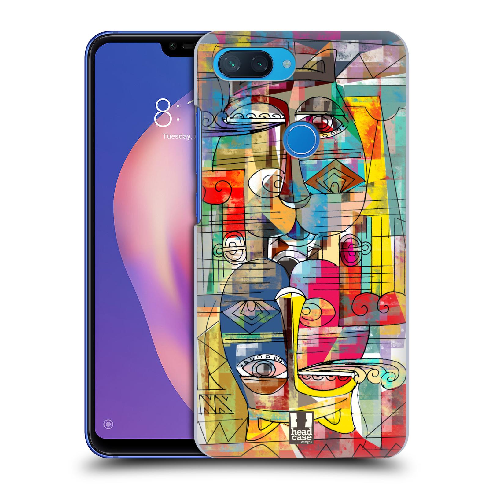Plastové pouzdro na mobil Xiaomi Mi 8 Lite - Head Case - AZTEC MANX