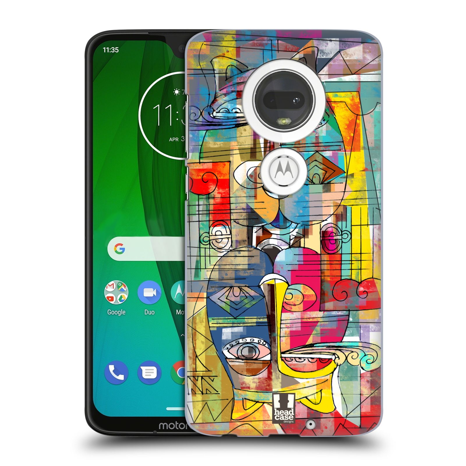 Plastové pouzdro na mobil Motorola Moto G7 - Head Case - AZTEC MANX