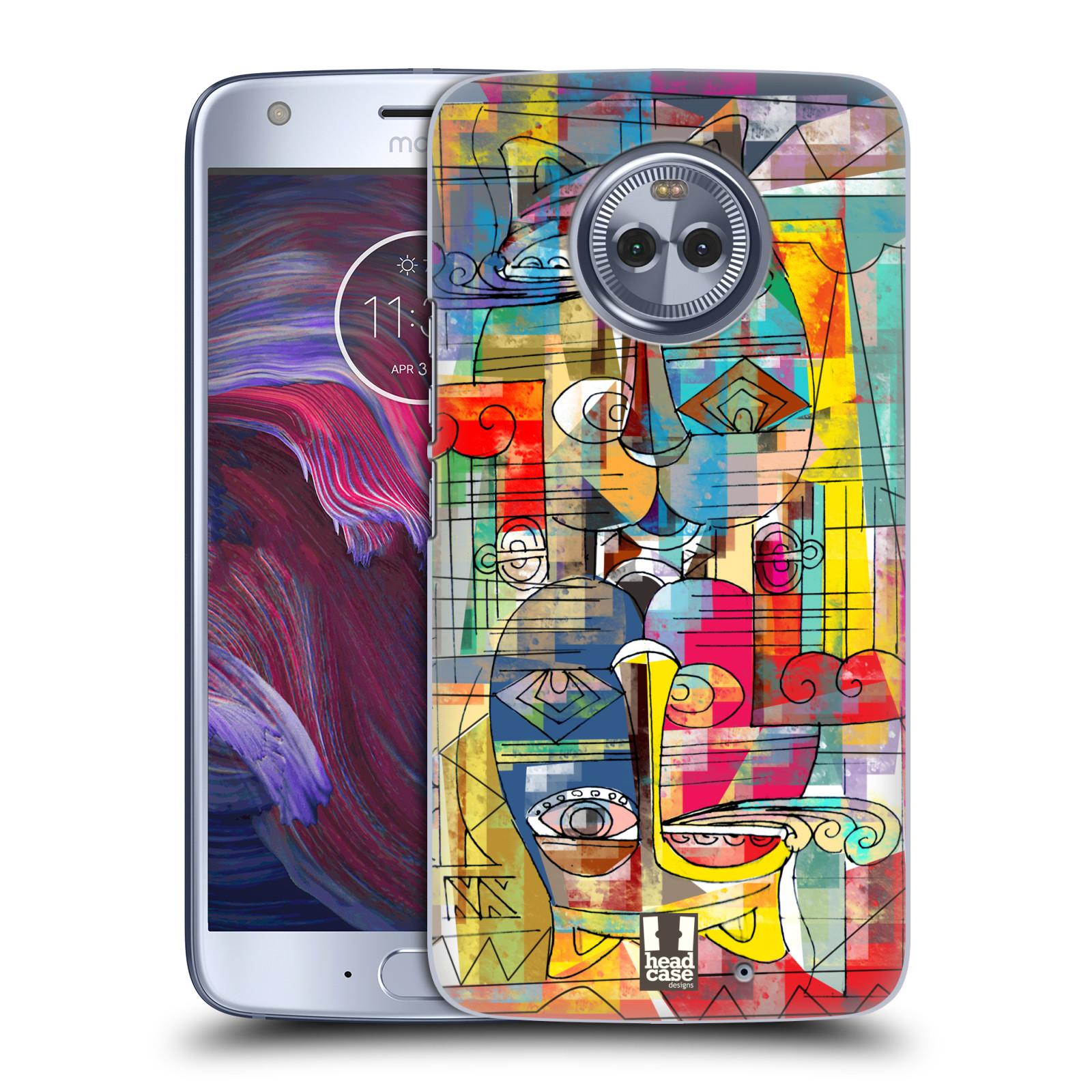 Plastové pouzdro na mobil Lenovo Moto X4 - Head Case - AZTEC MANX