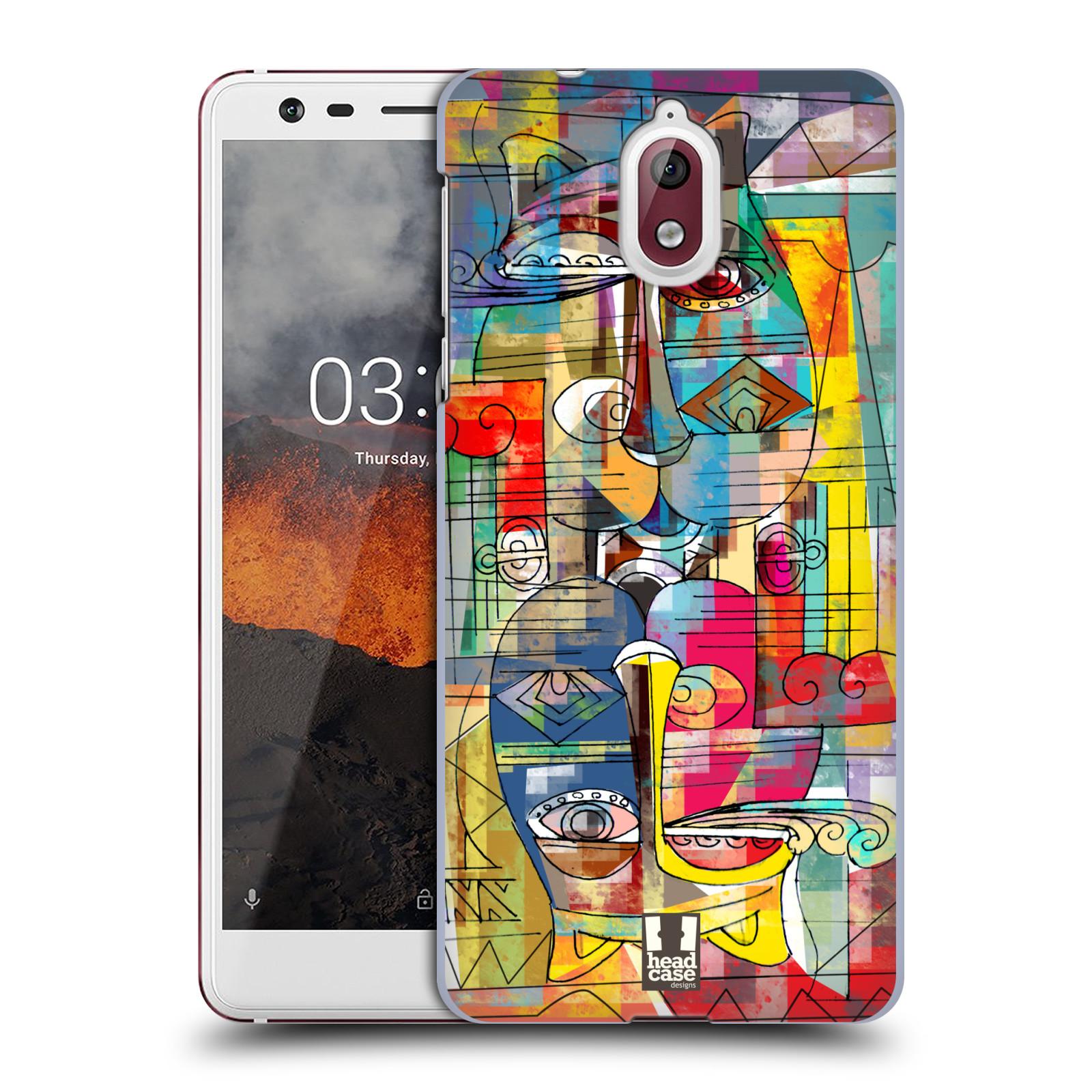 Plastové pouzdro na mobil Nokia 3.1 - Head Case - AZTEC MANX