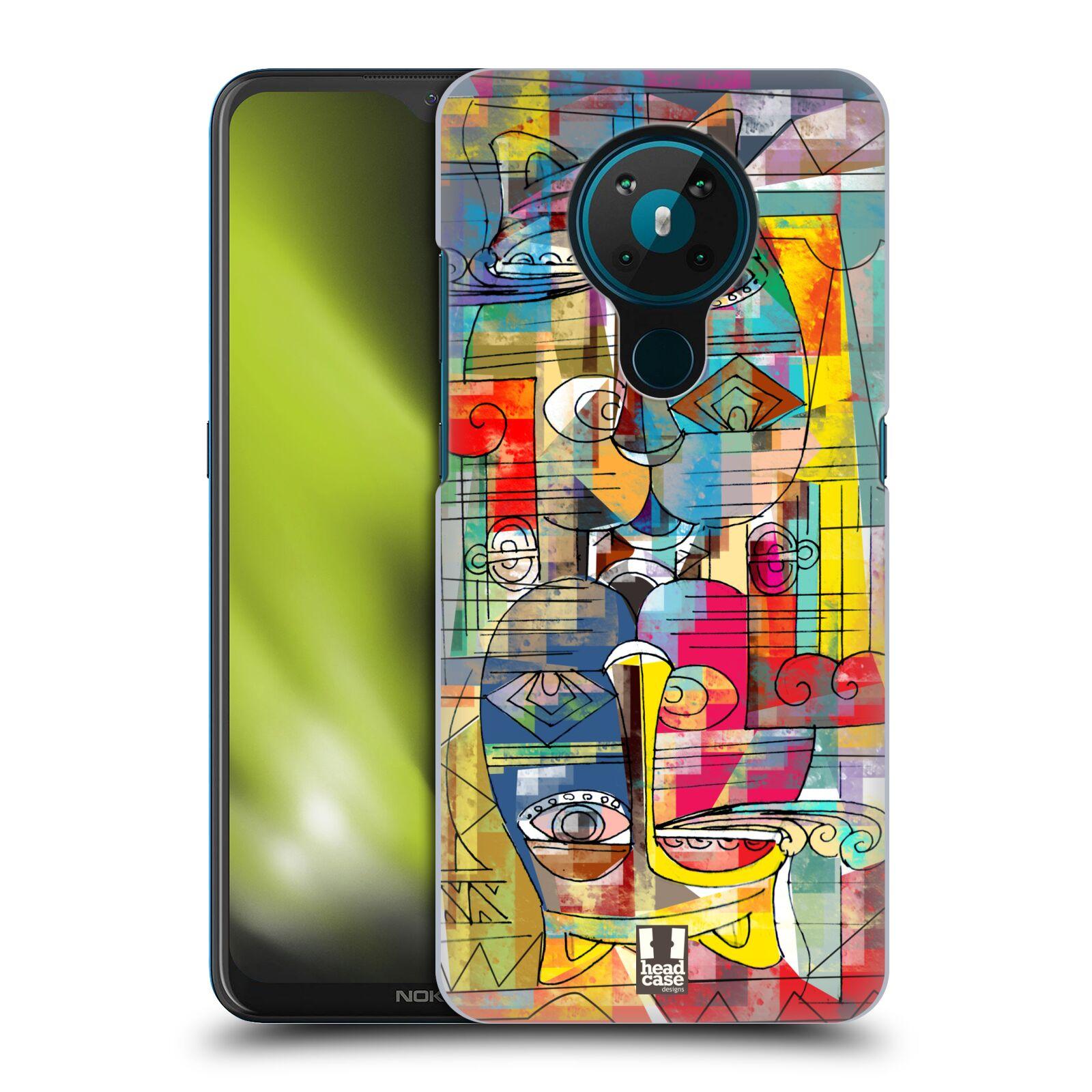Plastové pouzdro na mobil Nokia 5.3 - Head Case - AZTEC MANX