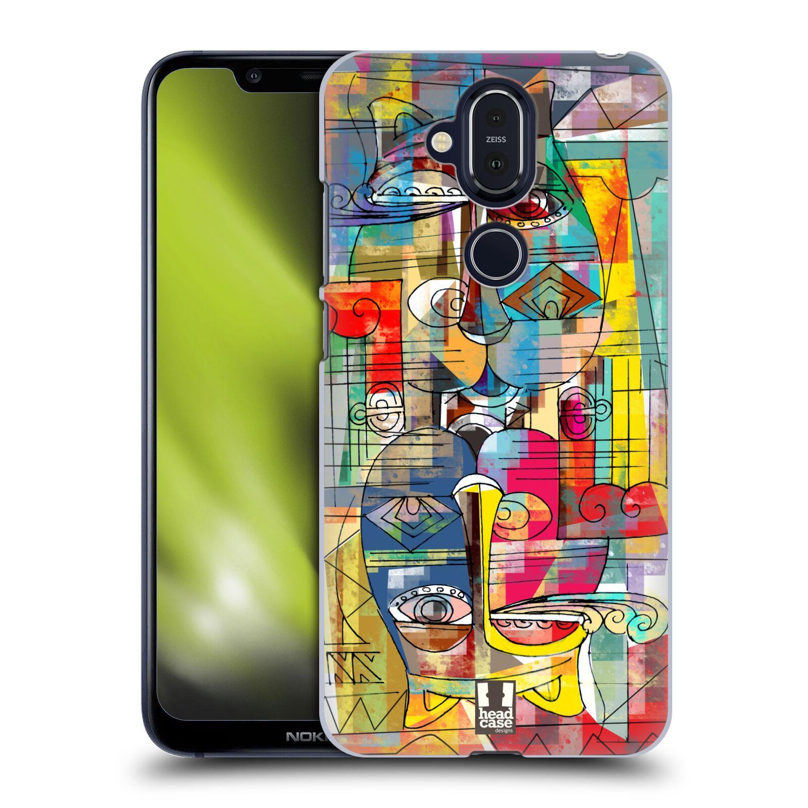 Plastové pouzdro na mobil Nokia 8.1 - Head Case - AZTEC MANX