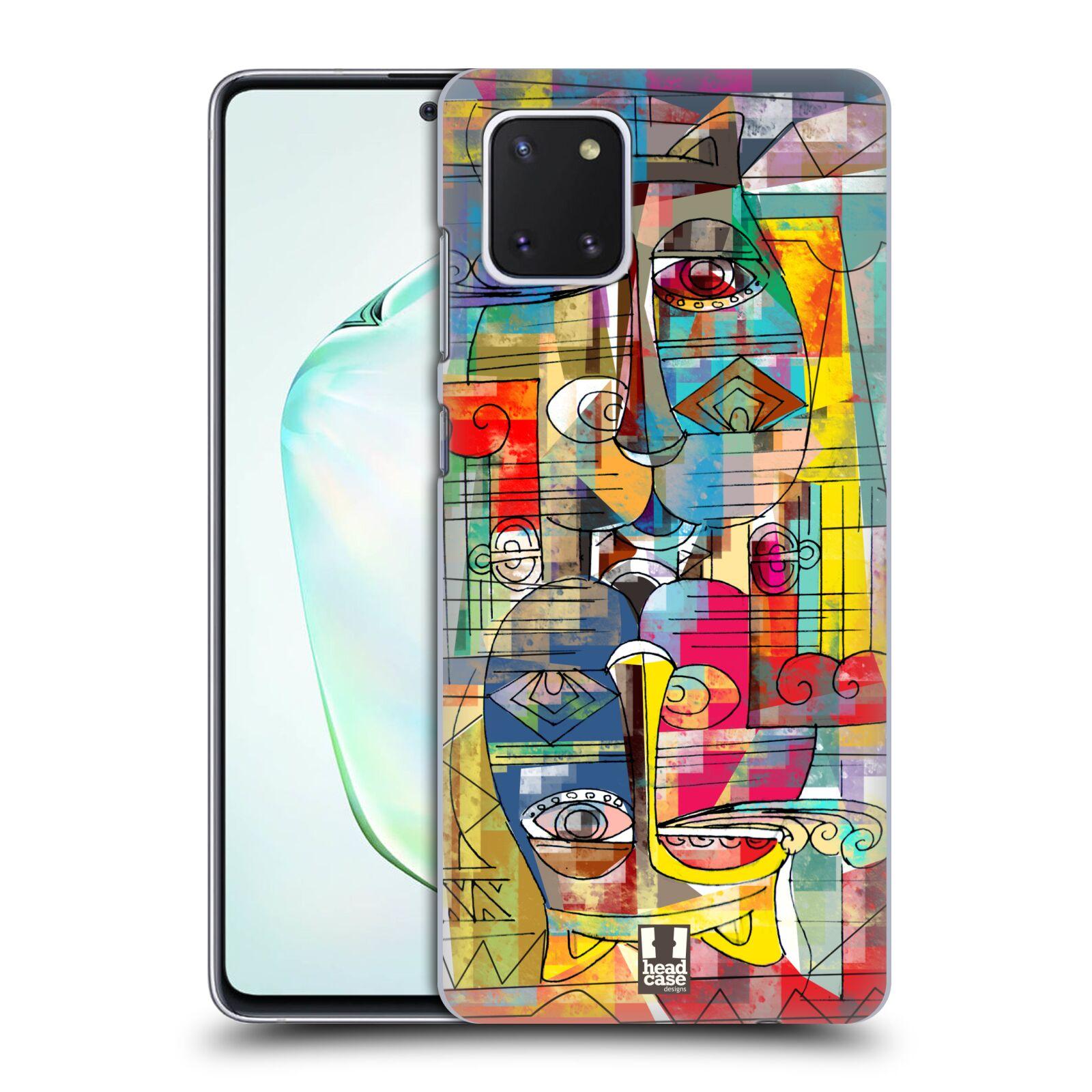 Plastové pouzdro na mobil Samsung Galaxy Note 10 Lite - Head Case - AZTEC MANX
