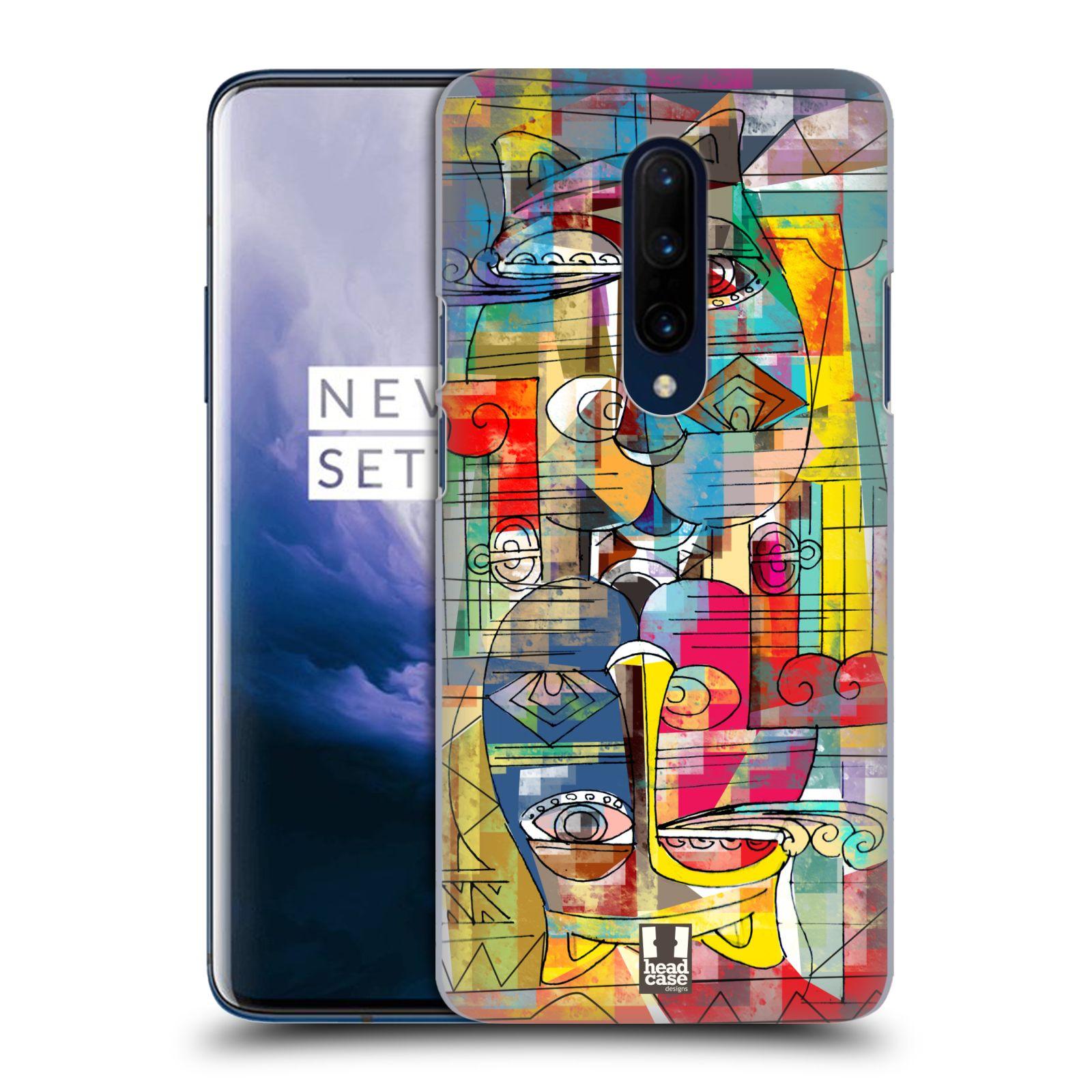 Plastové pouzdro na mobil OnePlus 7 Pro - Head Case - AZTEC MANX