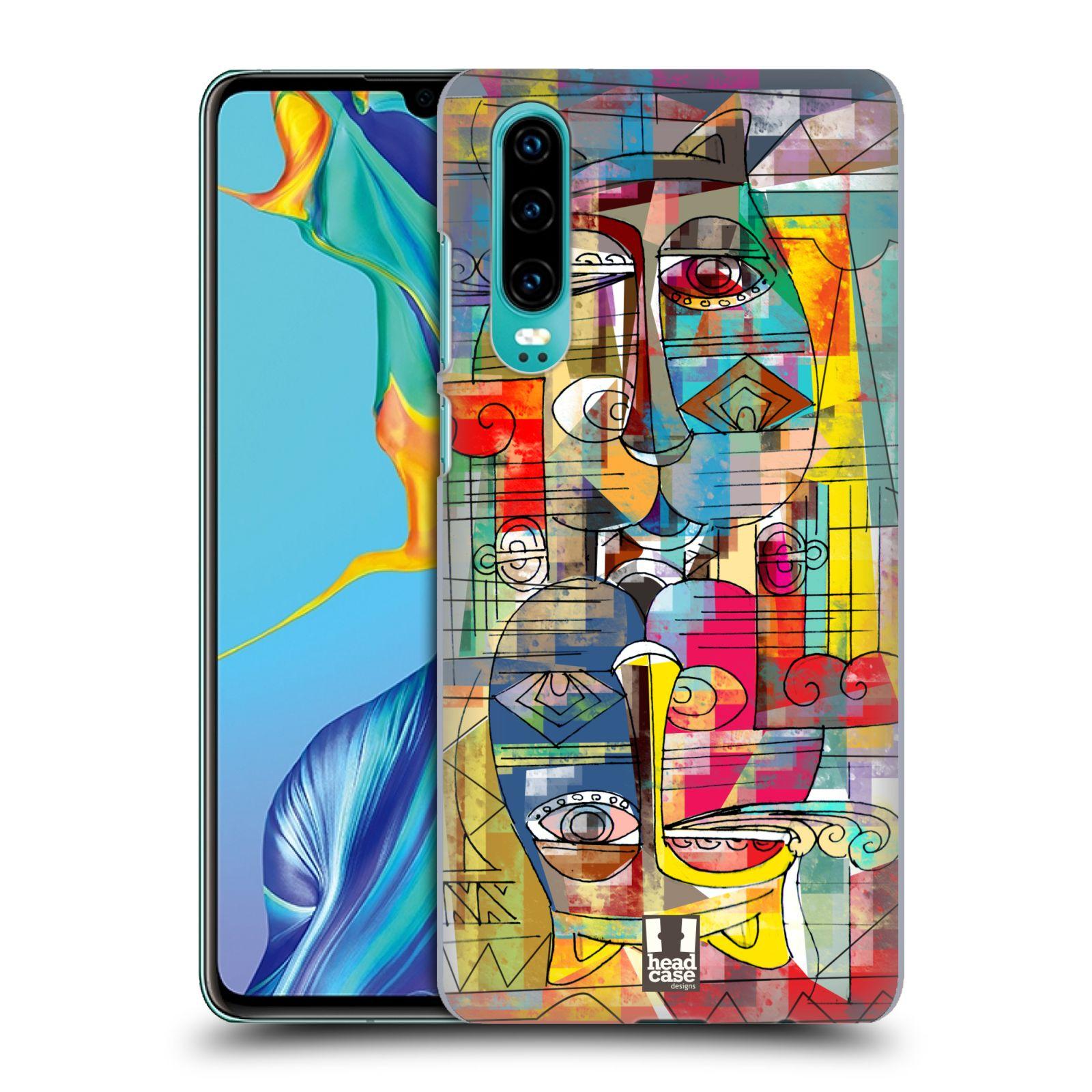 Plastové pouzdro na mobil Huawei P30 - Head Case - AZTEC MANX