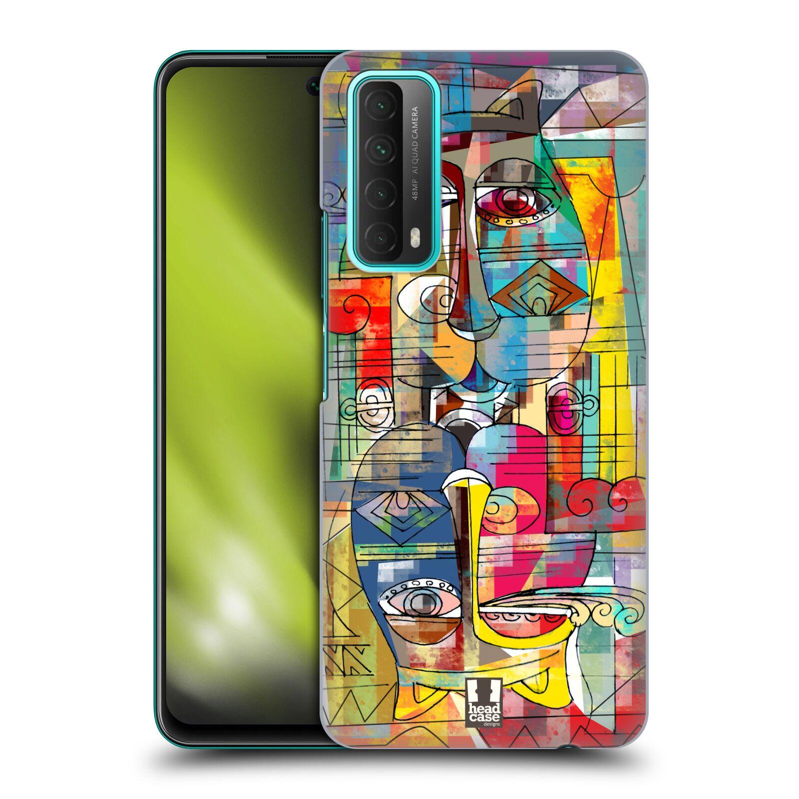 Plastové pouzdro na mobil Huawei P Smart (2021) - Head Case - AZTEC MANX