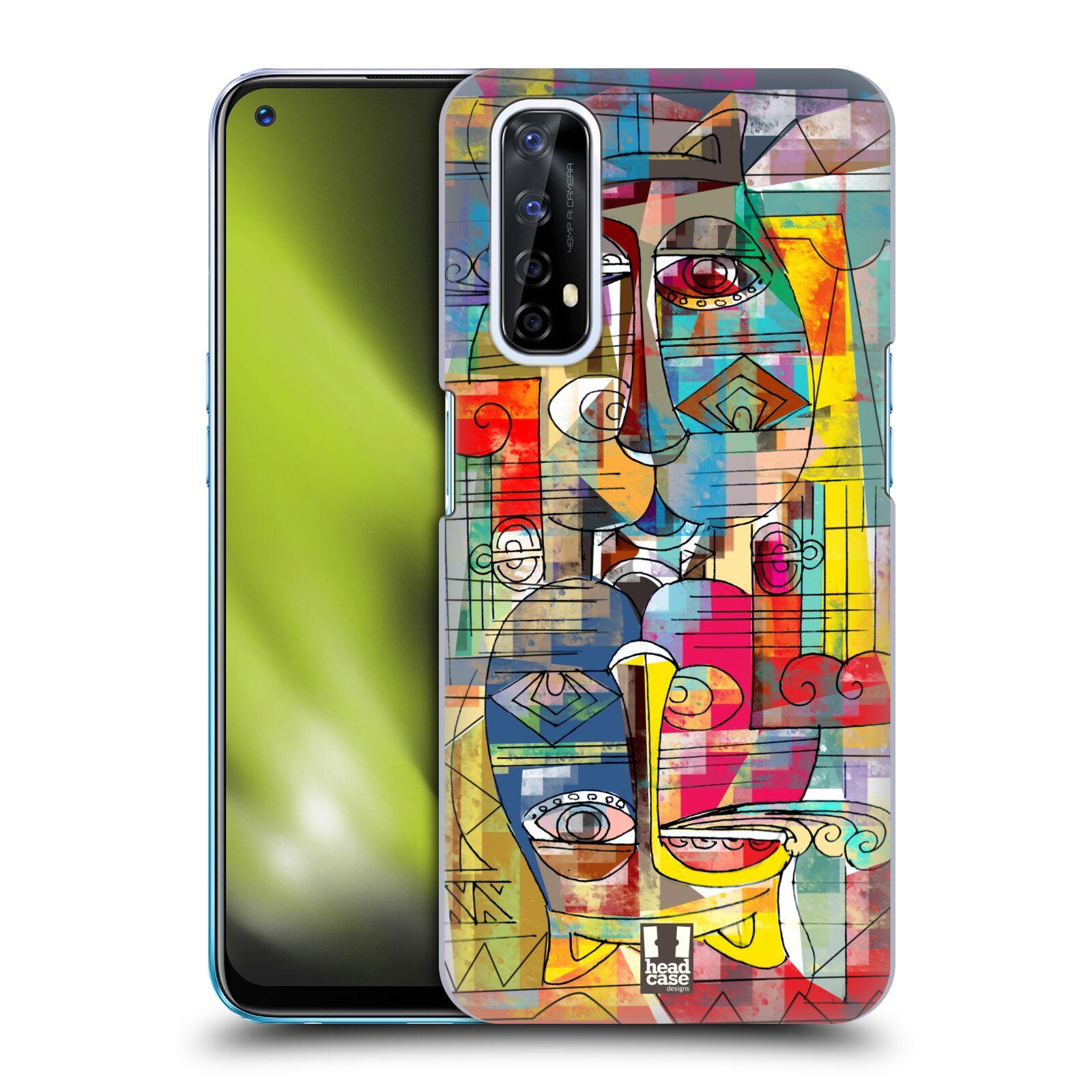 Plastové pouzdro na mobil Realme 7 - Head Case - AZTEC MANX