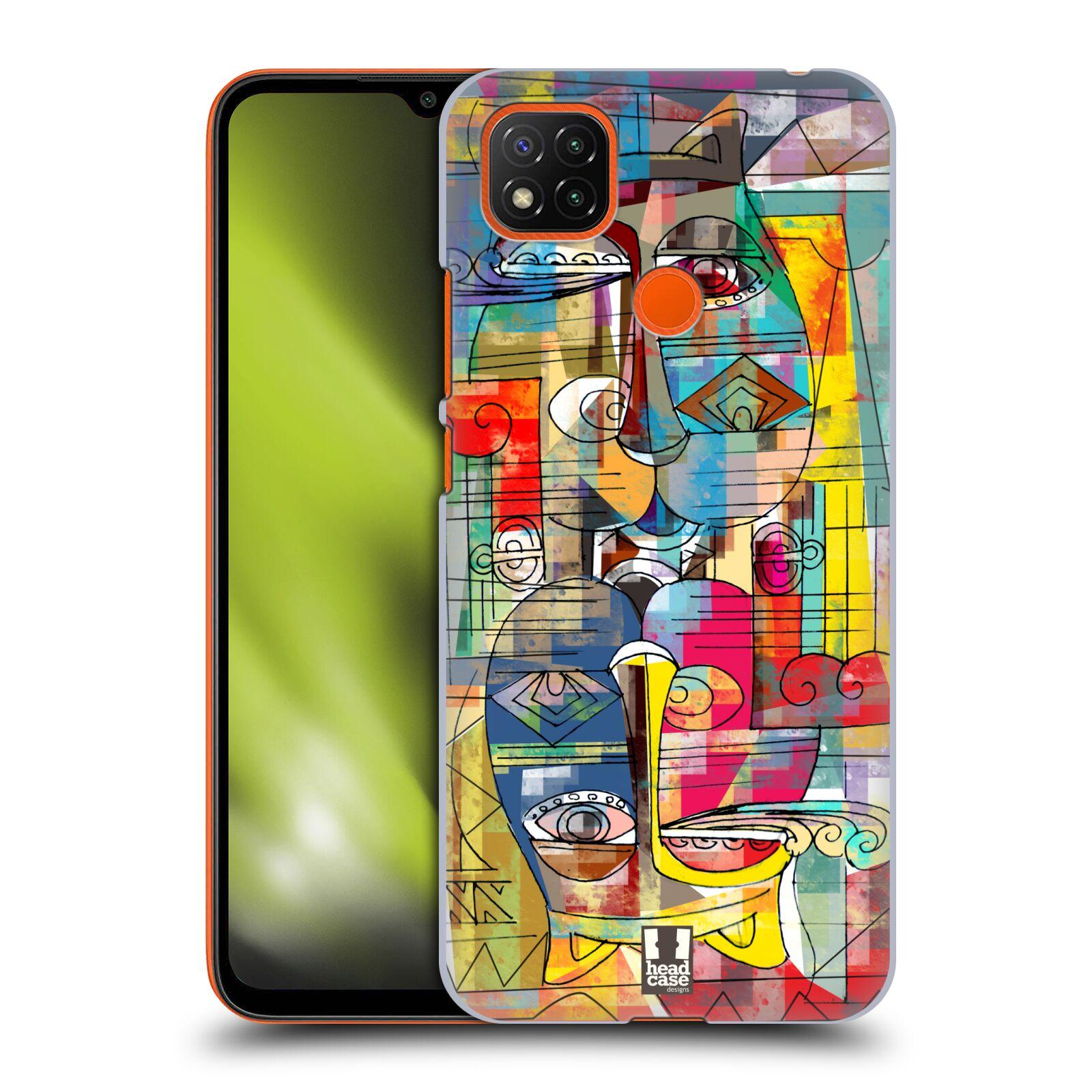 Plastové pouzdro na mobil Xiaomi Redmi 9C - Head Case - AZTEC MANX
