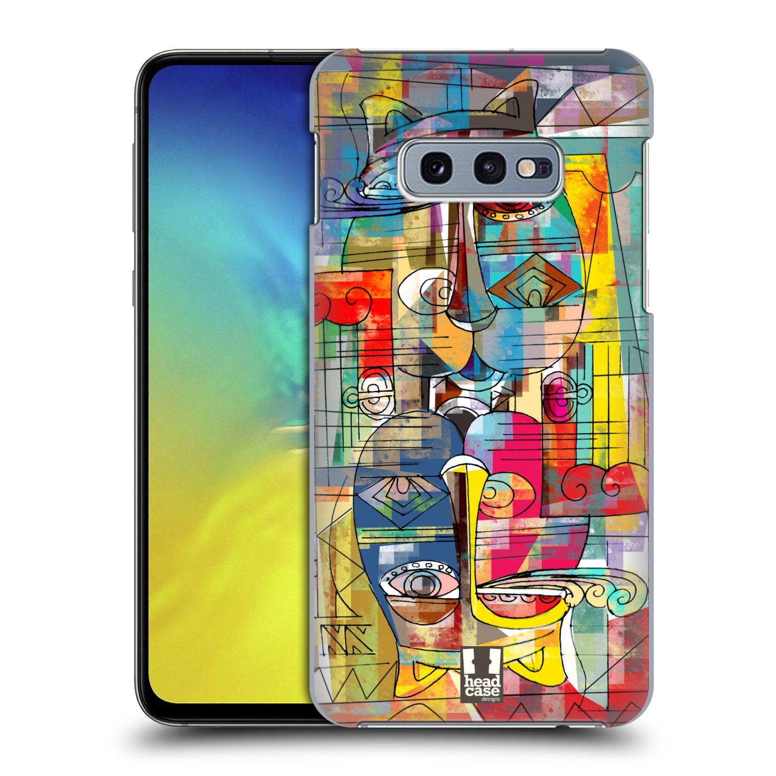 Plastové pouzdro na mobil Samsung Galaxy S10e - Head Case - AZTEC MANX