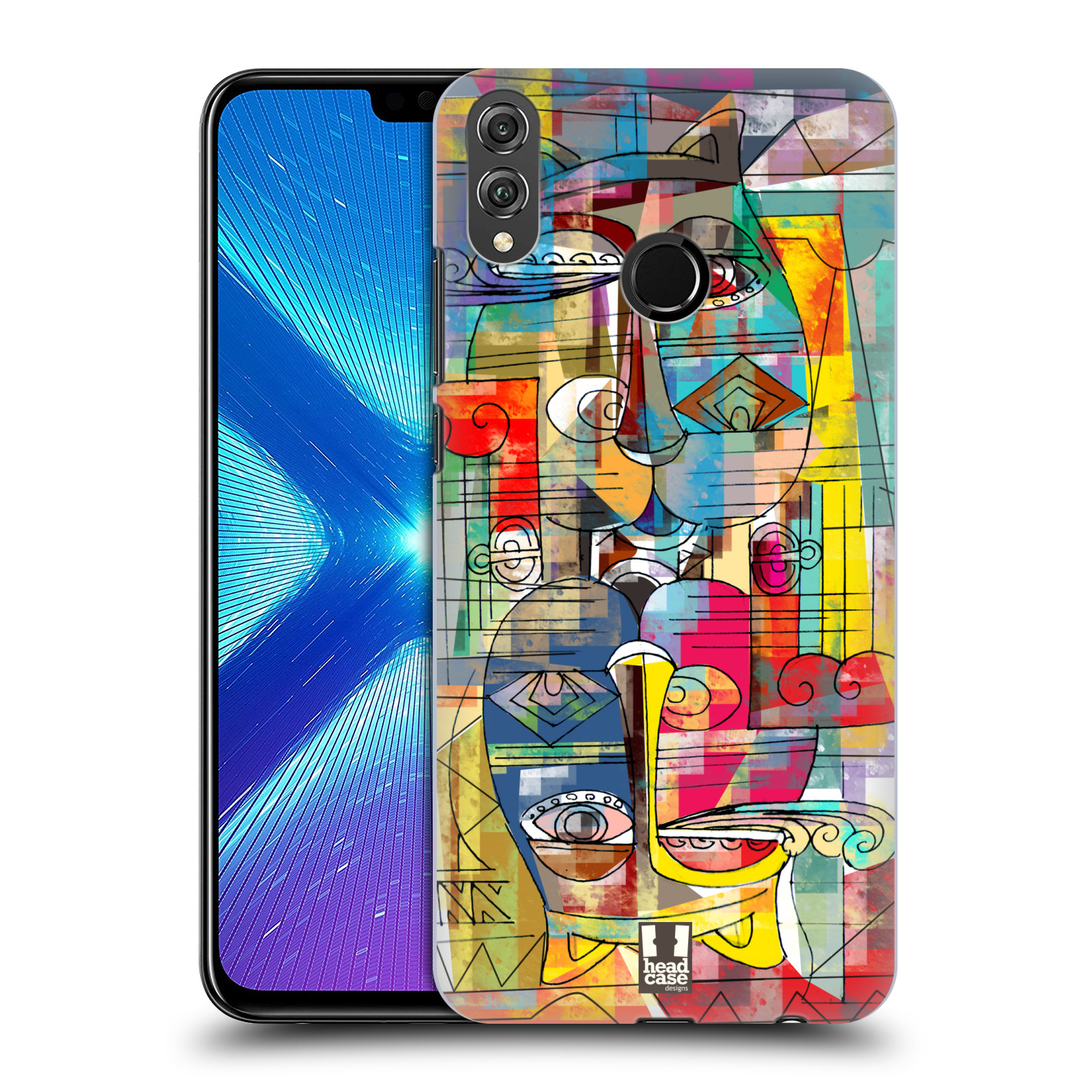 Plastové pouzdro na mobil Honor 8X - Head Case - AZTEC MANX