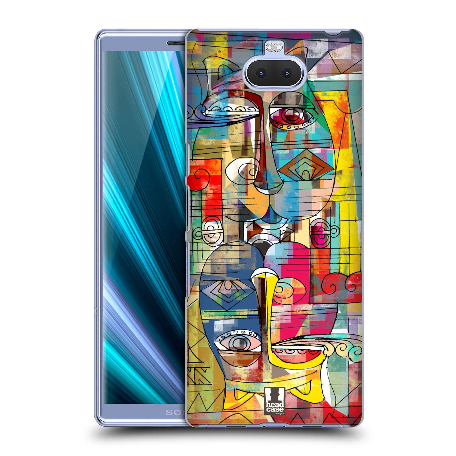 Plastové pouzdro na mobil Sony Xperia 10 Plus - Head Case - AZTEC MANX