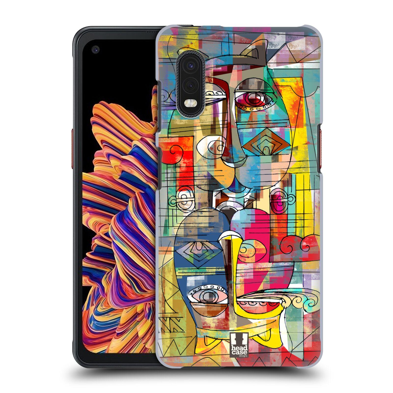 Plastové pouzdro na mobil Samsung Galaxy Xcover Pro - Head Case - AZTEC MANX