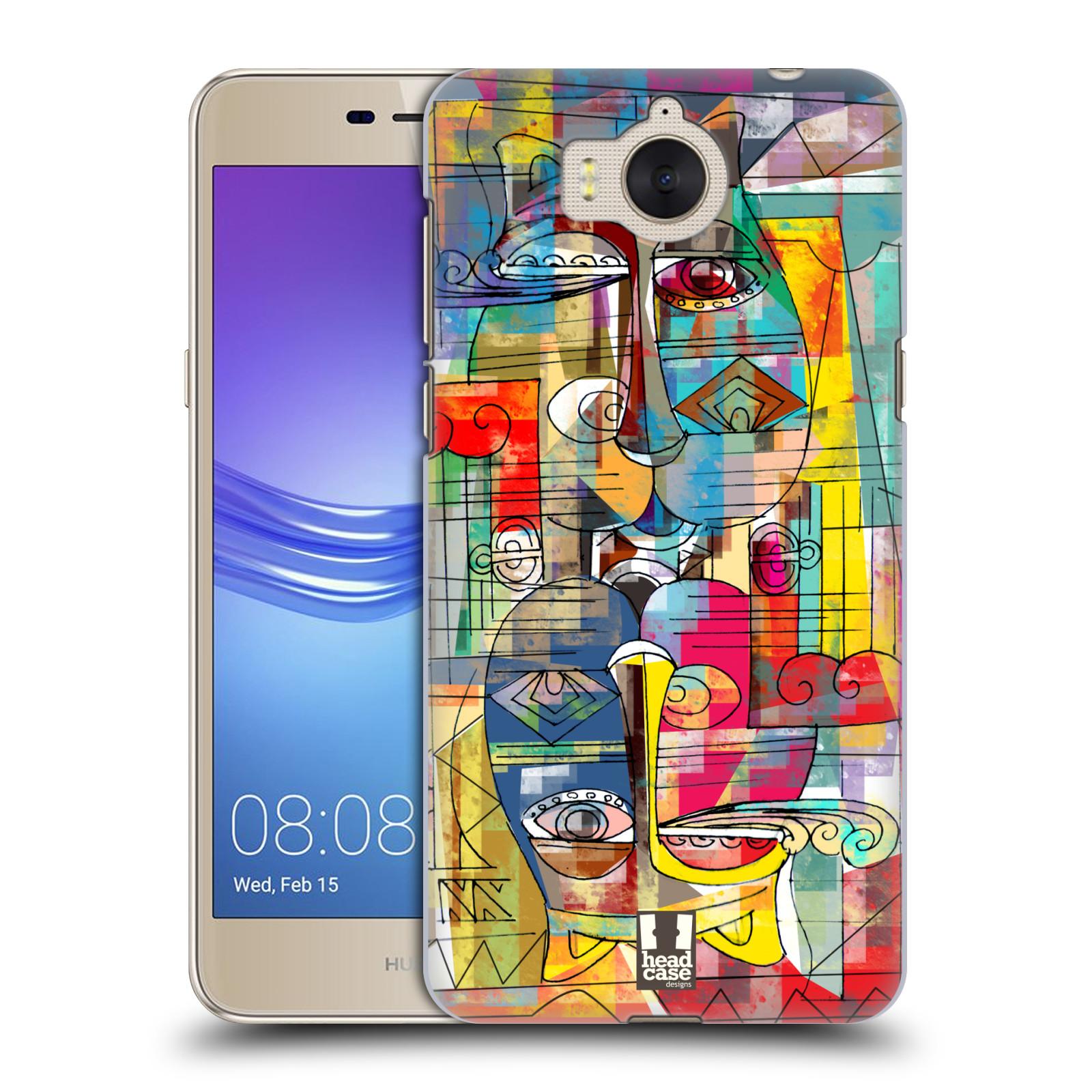 Plastové pouzdro na mobil Huawei Y6 2017 - Head Case - AZTEC MANX