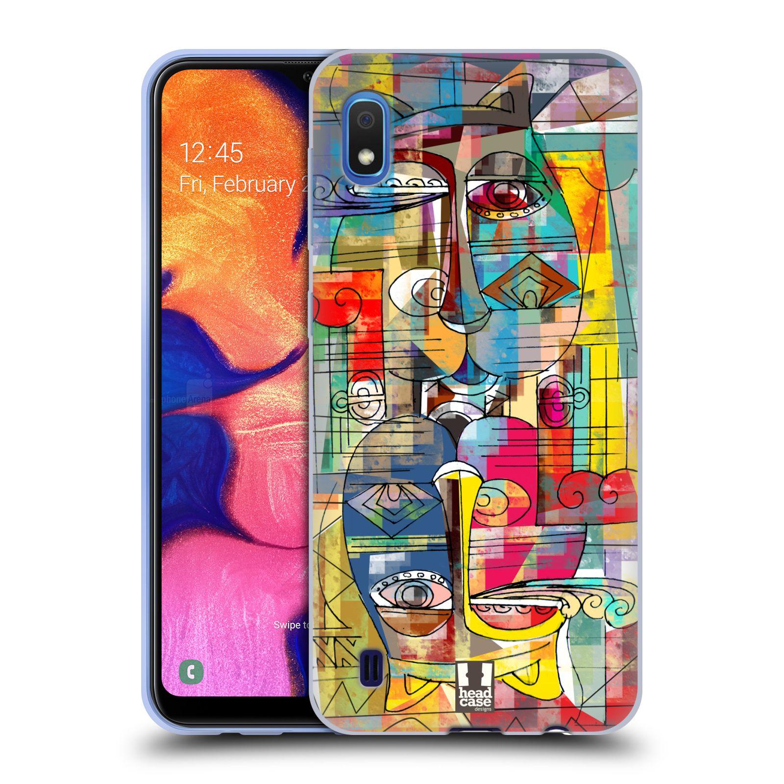 Silikonové pouzdro na mobil Samsung Galaxy A10 - Head Case - AZTEC MANX