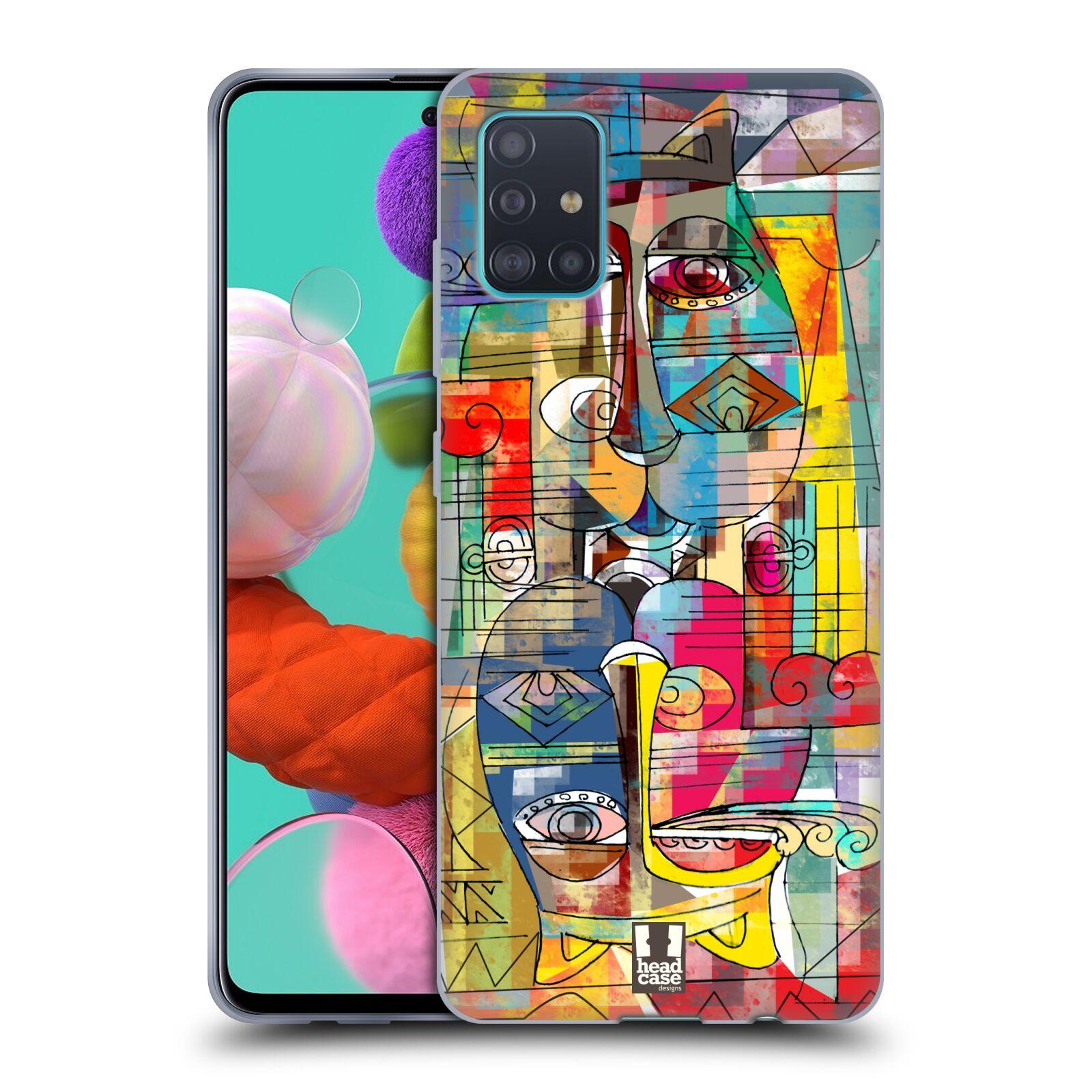 Silikonové pouzdro na mobil Samsung Galaxy A51 - Head Case - AZTEC MANX