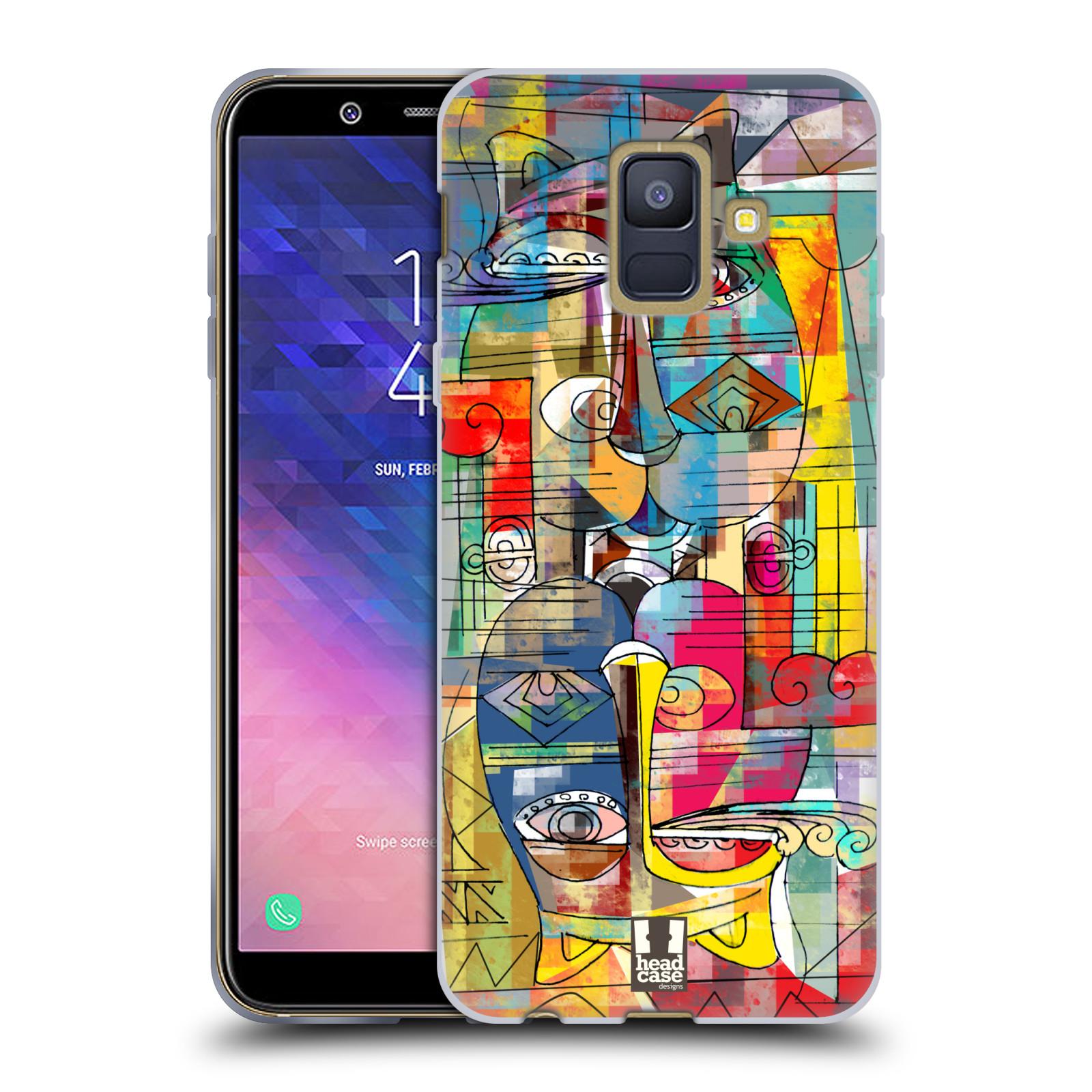 Silikonové pouzdro na mobil Samsung Galaxy A6 (2018) - Head Case - AZTEC MANX