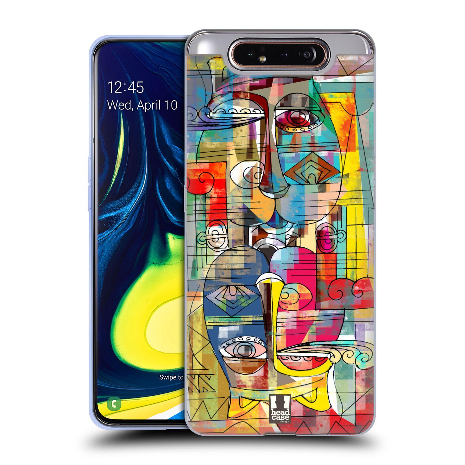 Silikonové pouzdro na mobil Samsung Galaxy A80 - Head Case - AZTEC MANX
