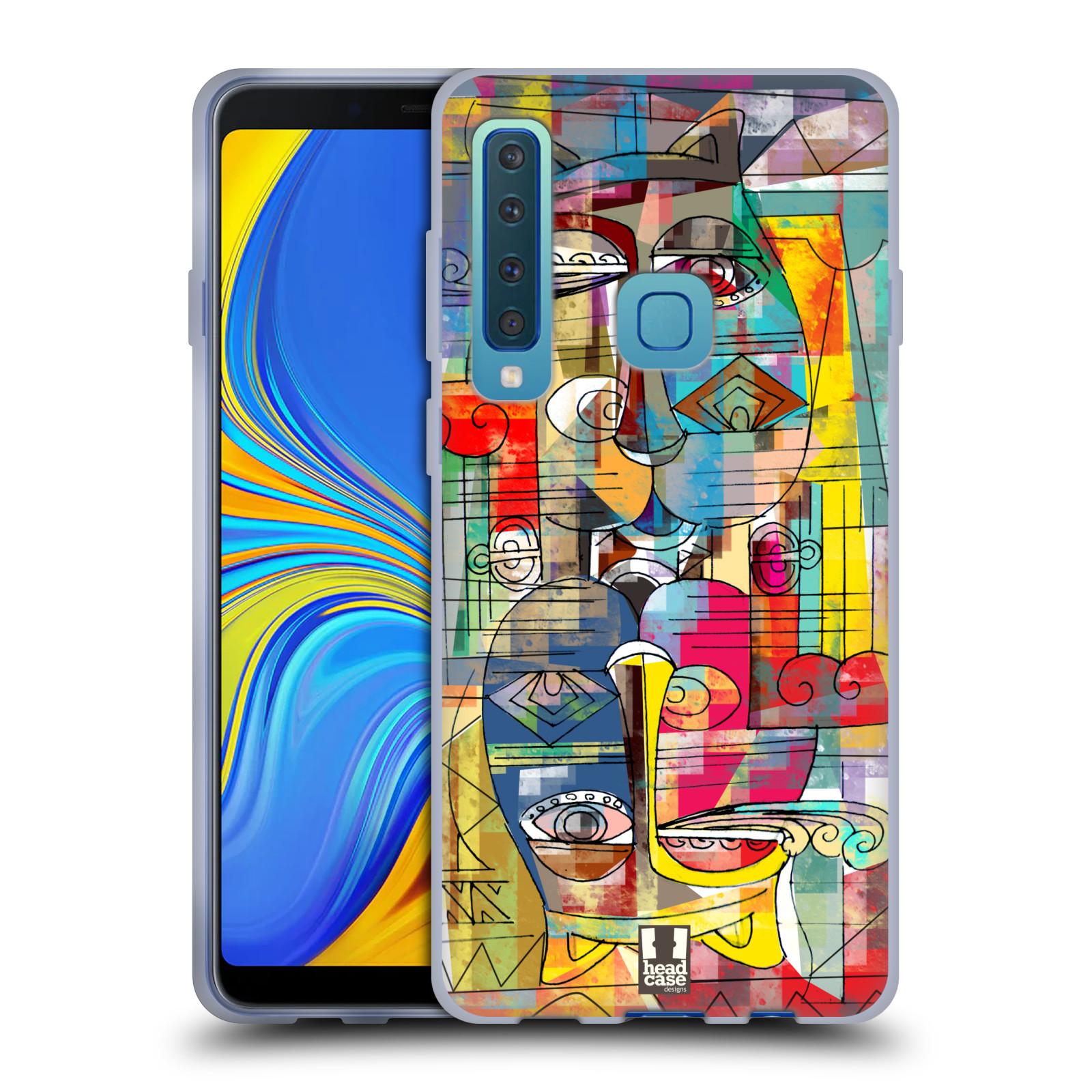 Silikonové pouzdro na mobil Samsung Galaxy A9 (2018) - Head Case - AZTEC MANX