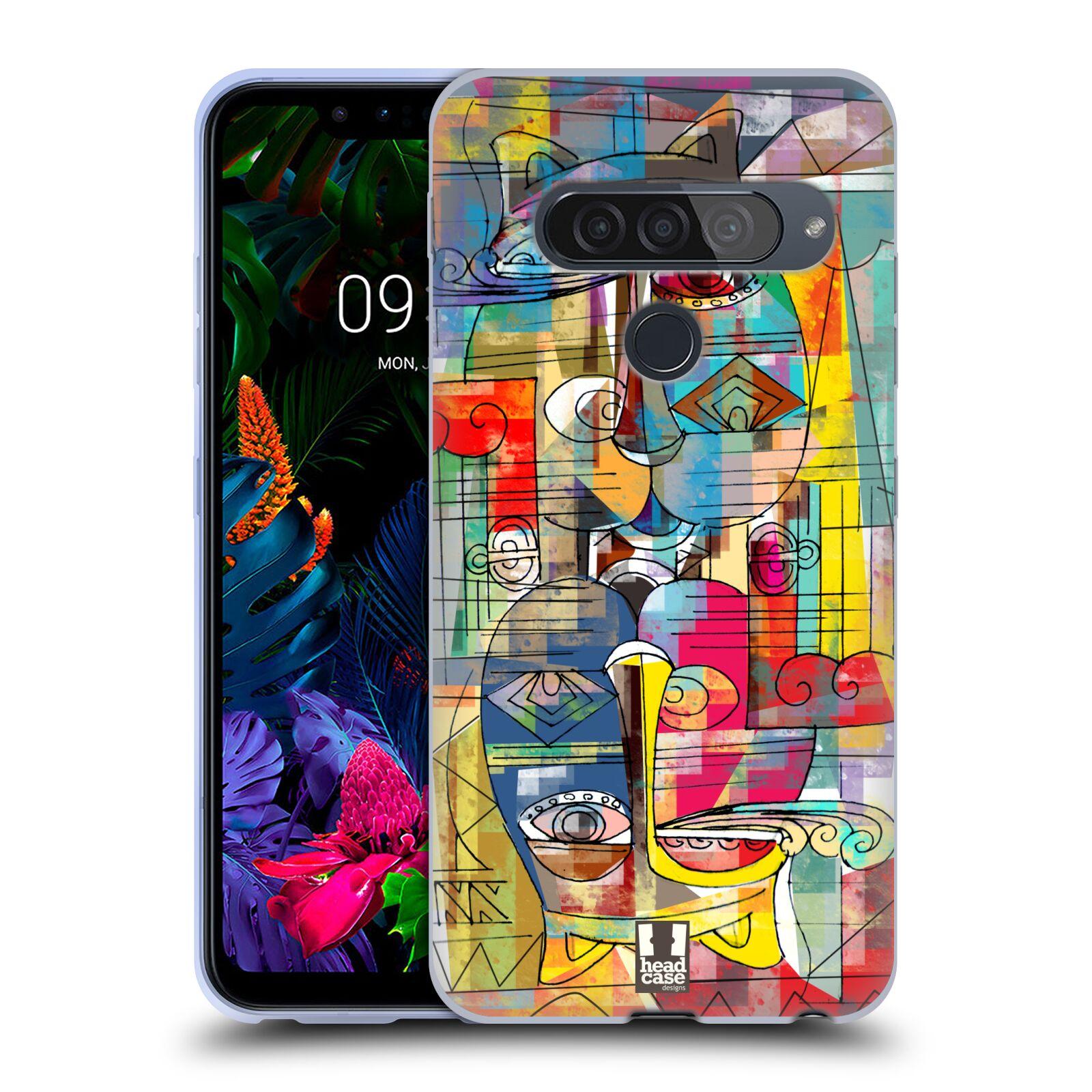 Silikonové pouzdro na mobil LG G8s ThinQ - Head Case - AZTEC MANX