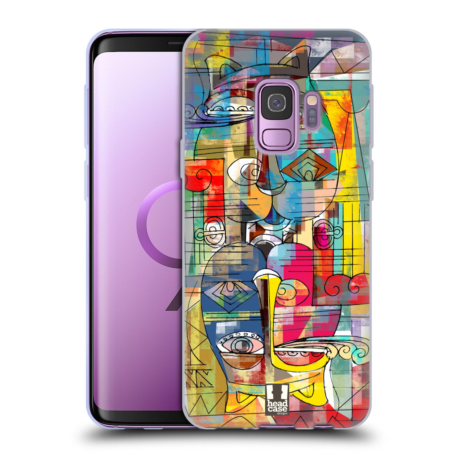 Silikonové pouzdro na mobil Samsung Galaxy S9 - Head Case - AZTEC MANX