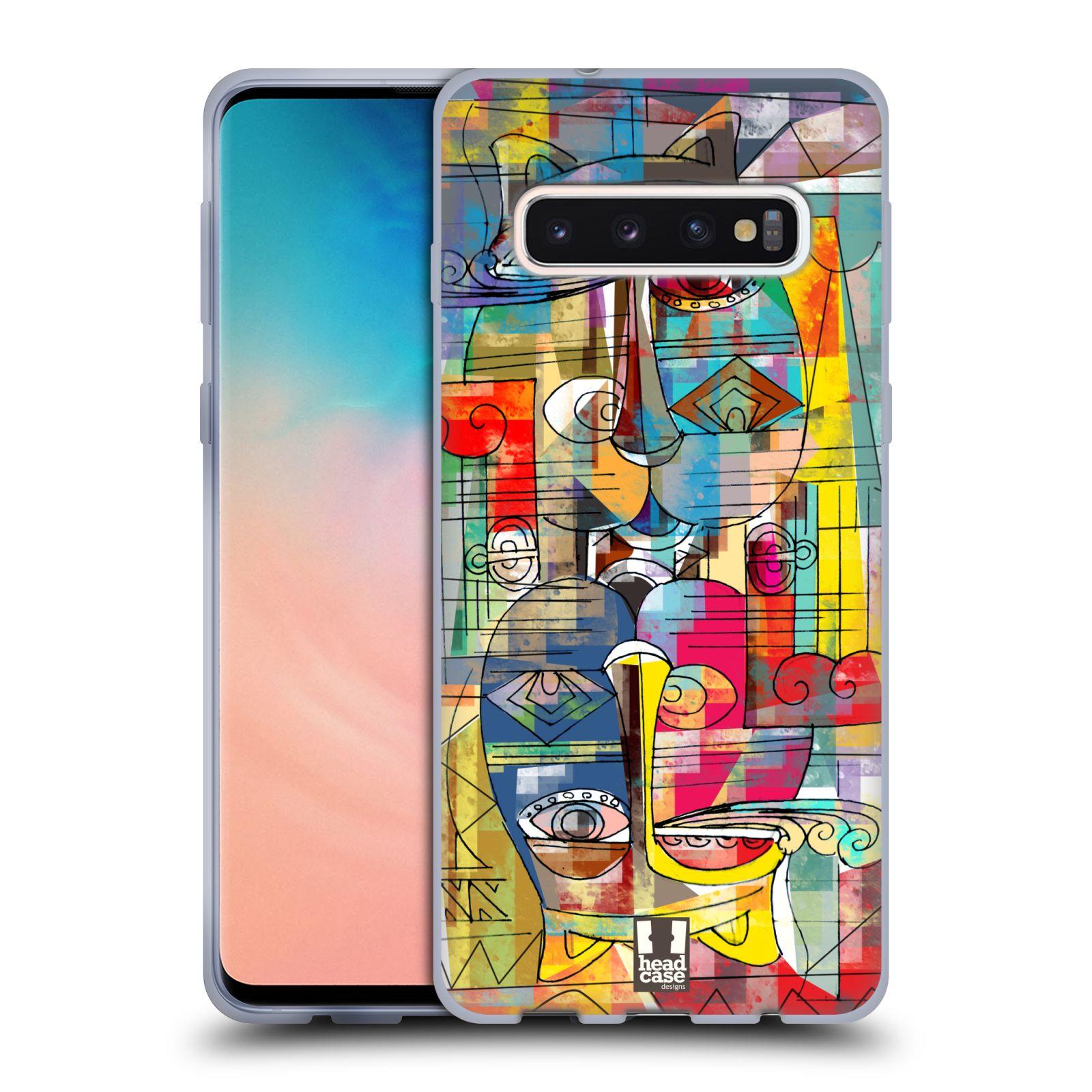 Silikonové pouzdro na mobil Samsung Galaxy S10 - Head Case - AZTEC MANX