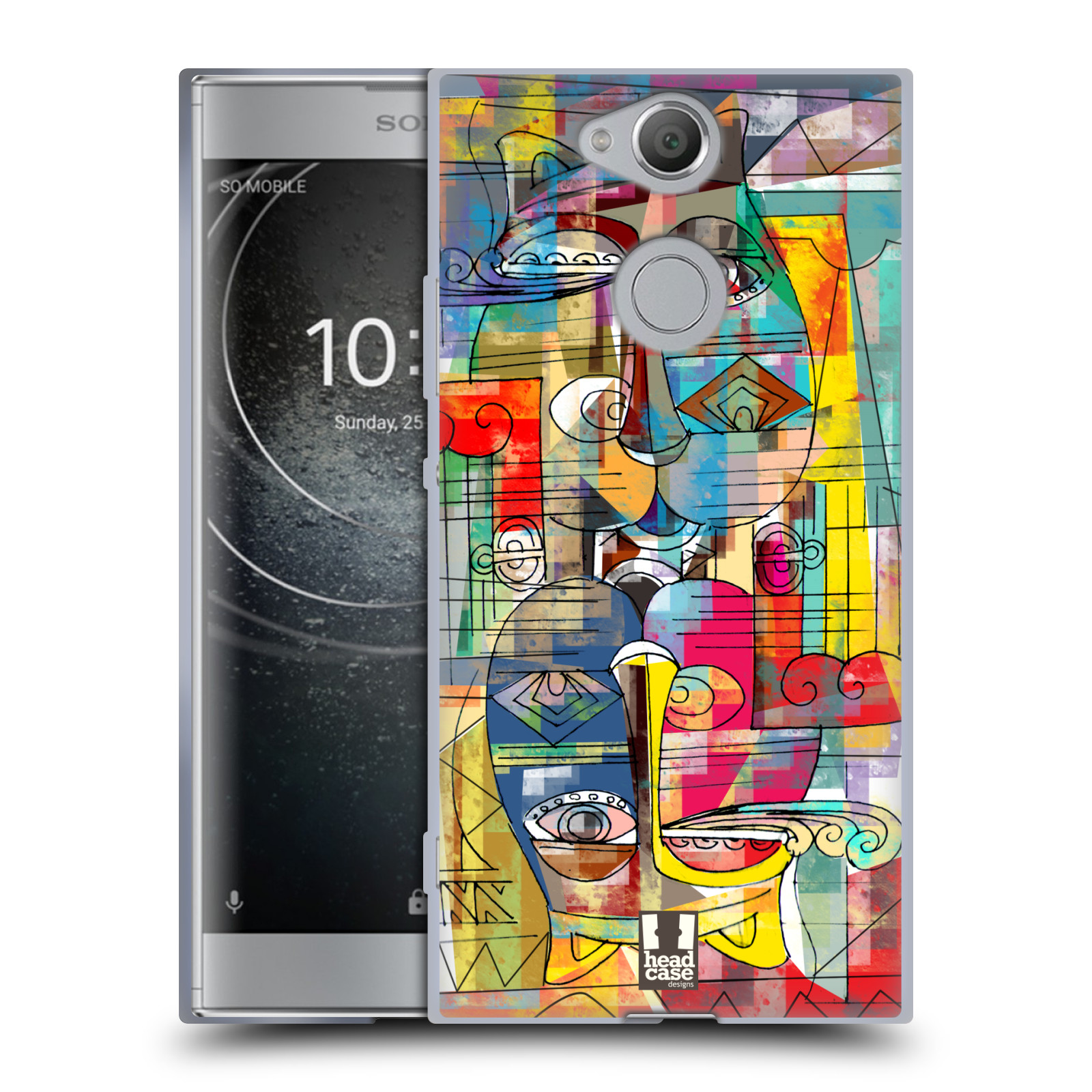 Silikonové pouzdro na mobil Sony Xperia XA2 - Head Case - AZTEC MANX