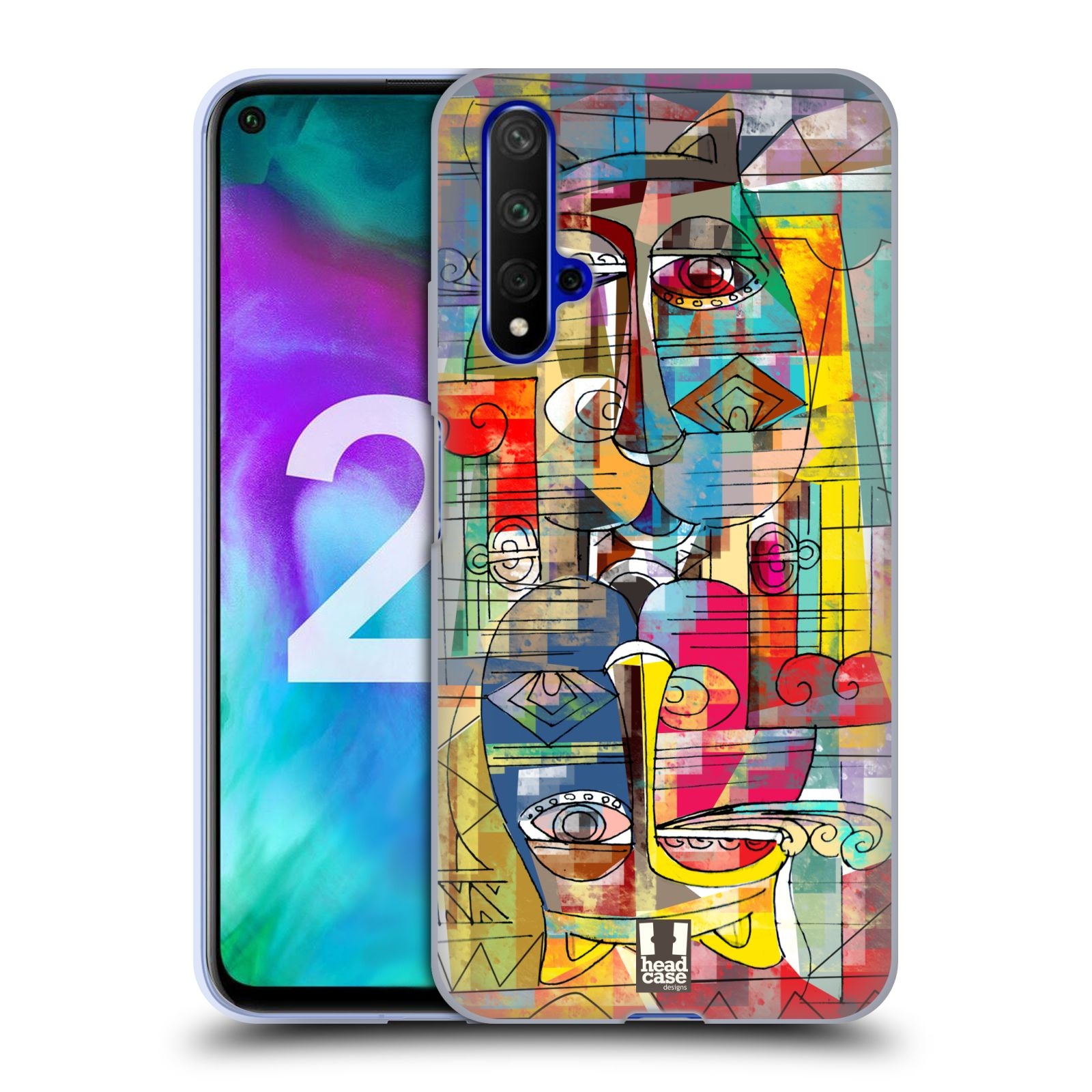 Silikonové pouzdro na mobil Honor 20 - Head Case - AZTEC MANX